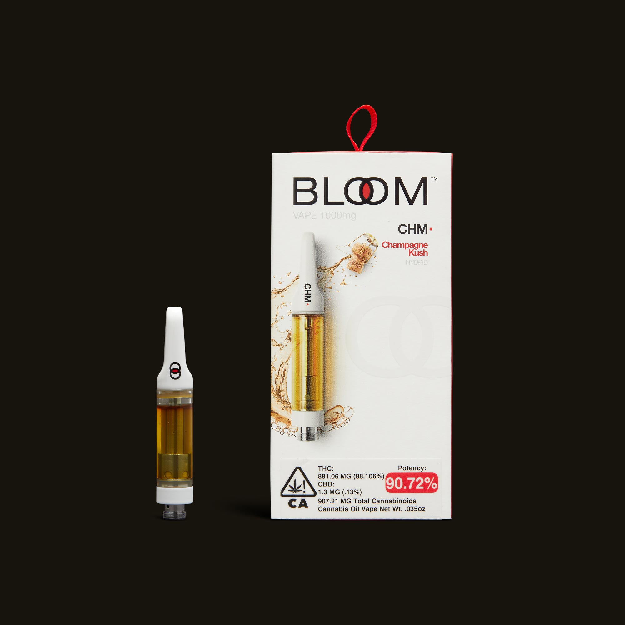 Bloom Brands Champagne Kush Cartridge - 1g