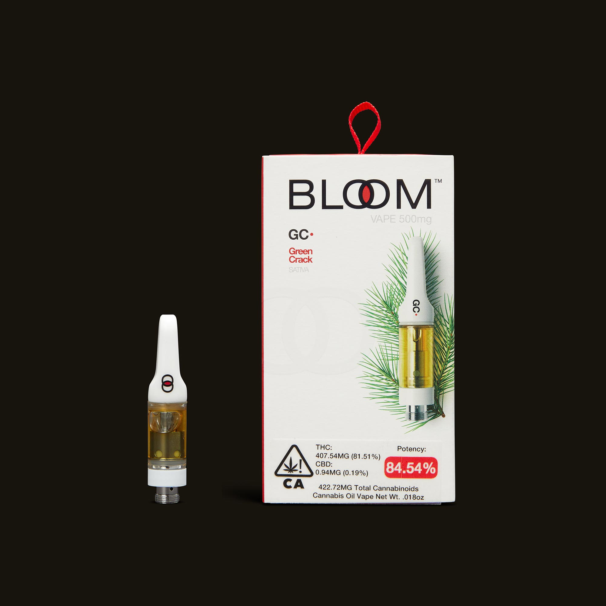 Bloom Brands Green Crack Cartridge - .5g
