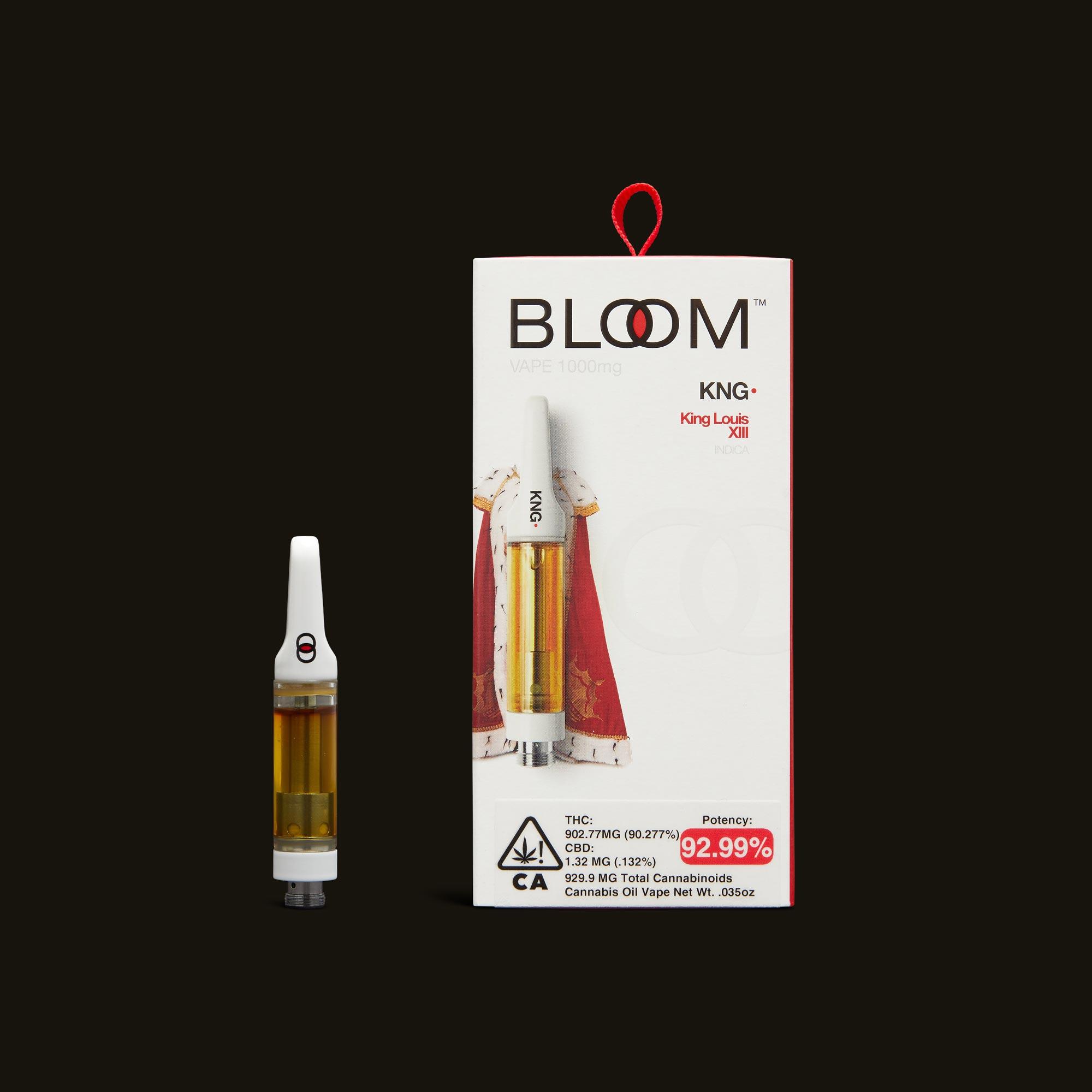 Bloom Brands King Louis XIII Cartridge - 1g