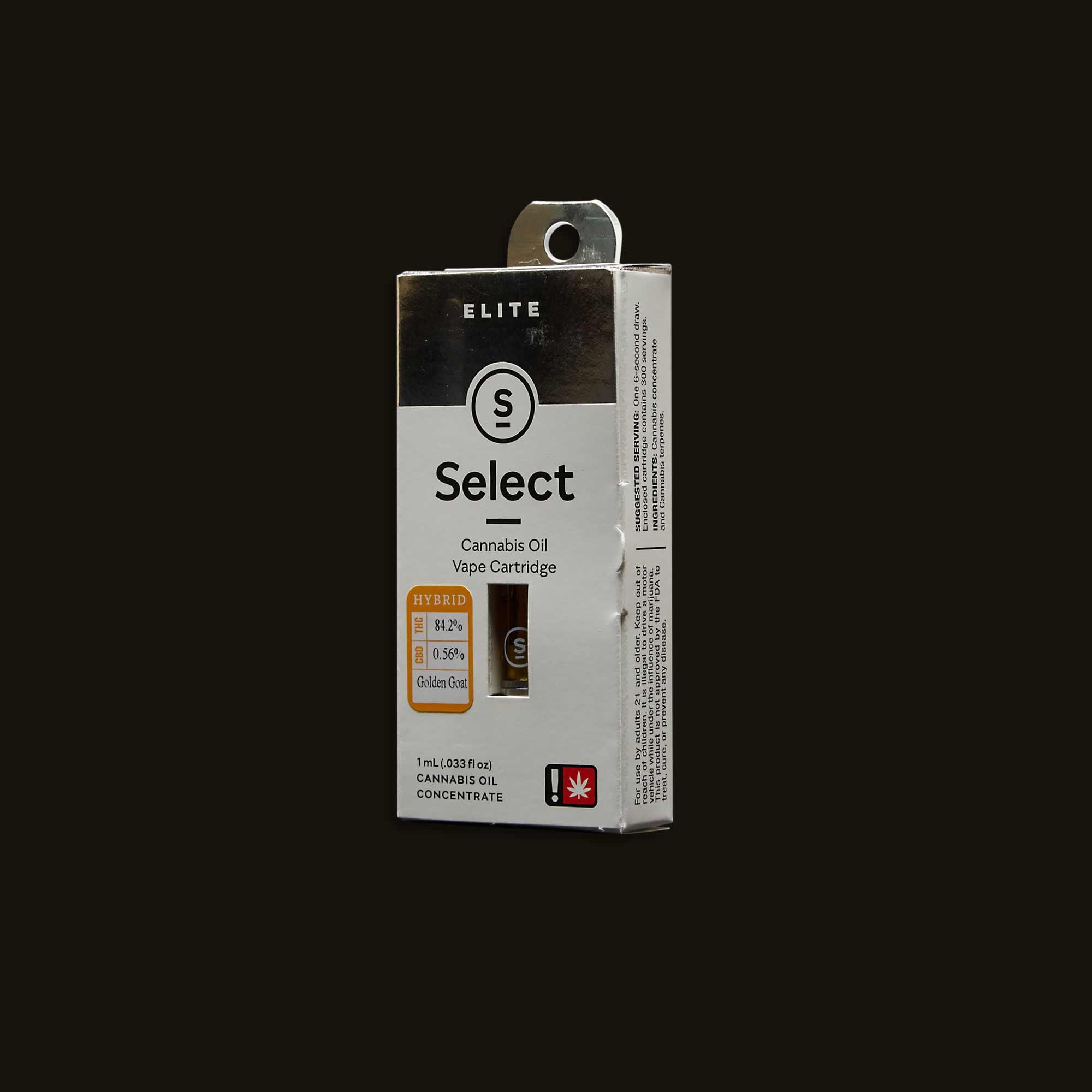 Select Golden Goat Elite Cartridge