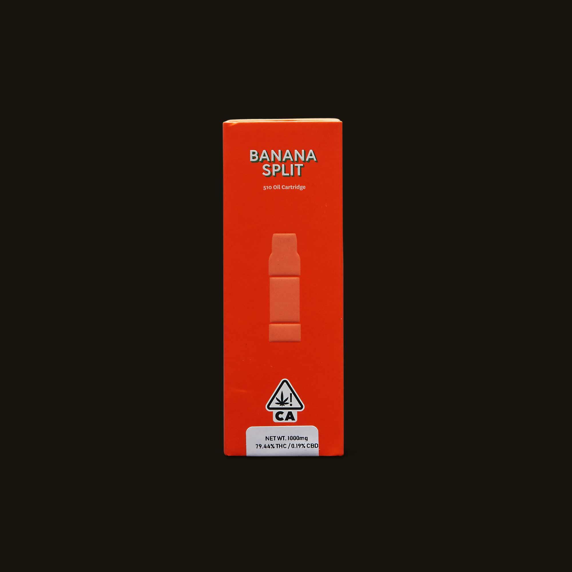 Banana Split Cartridge  - 500mg cartridge, 1g cartridge