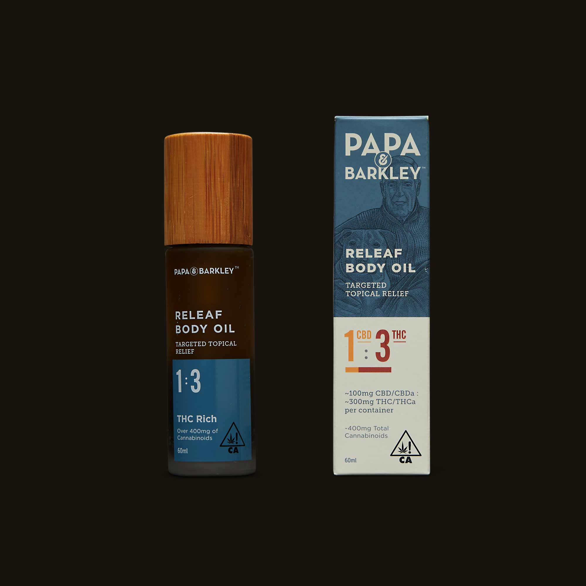 Papa & Barkley 1:3 CBD:THC Releaf Body Oil