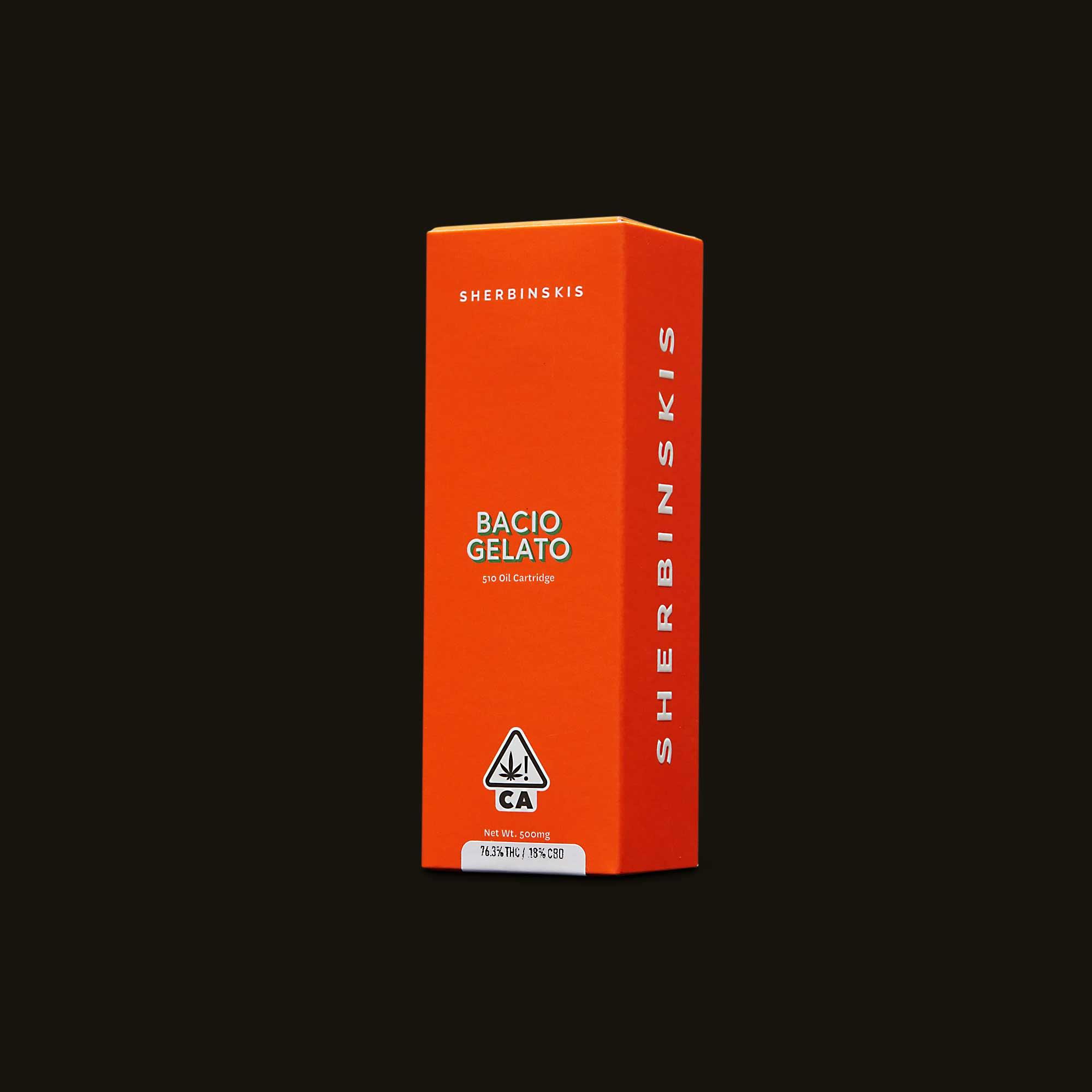 Bacio Gelato Cartridge - 500mg cartridge