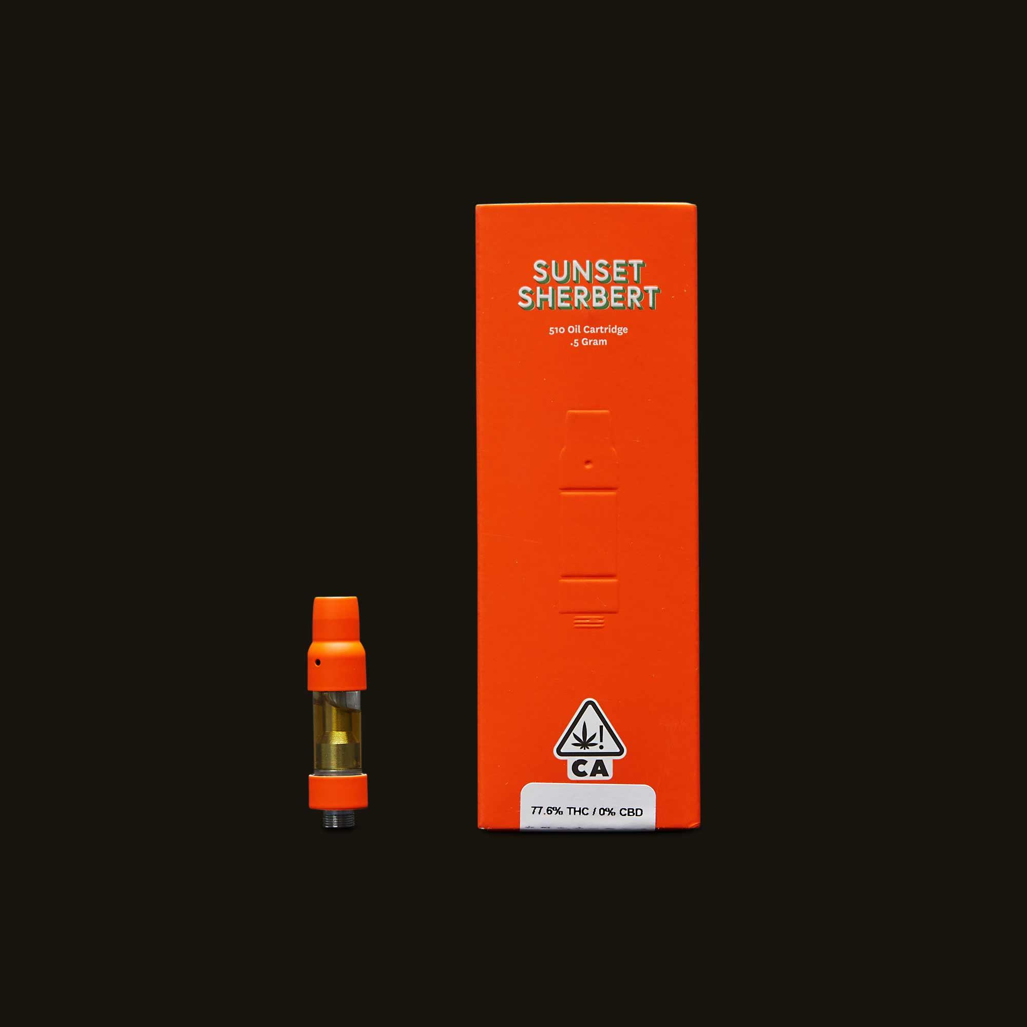 Sherbinskis Sunset Sherbert Cartridge