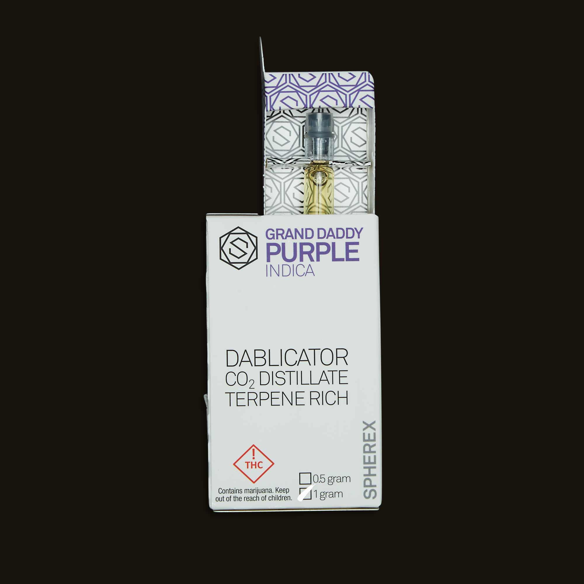 Spherex Grand Daddy Purple Dablicator