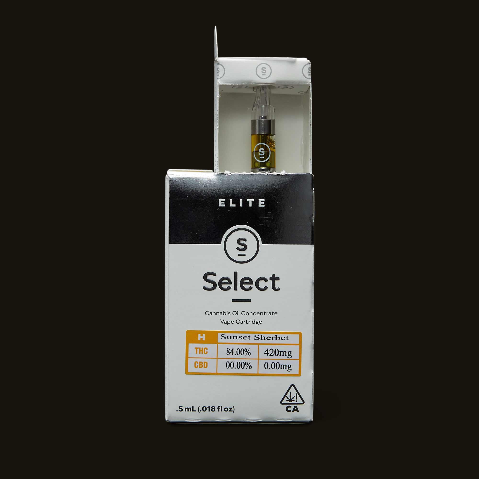 Select Sunset Sherbet Elite Cartridge