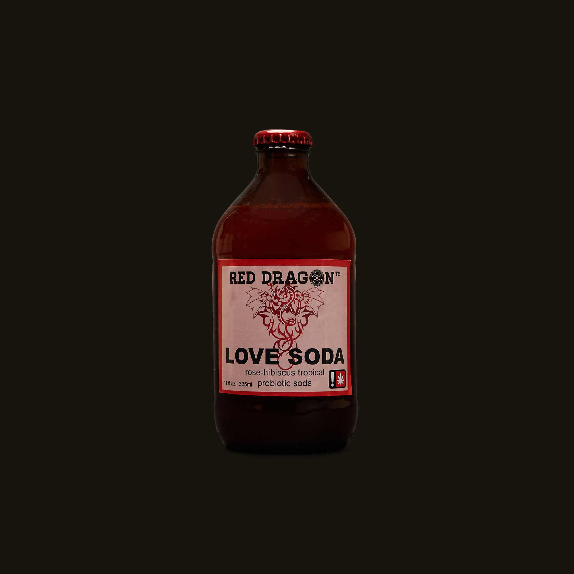 Med with Love Red Dragon Love Soda