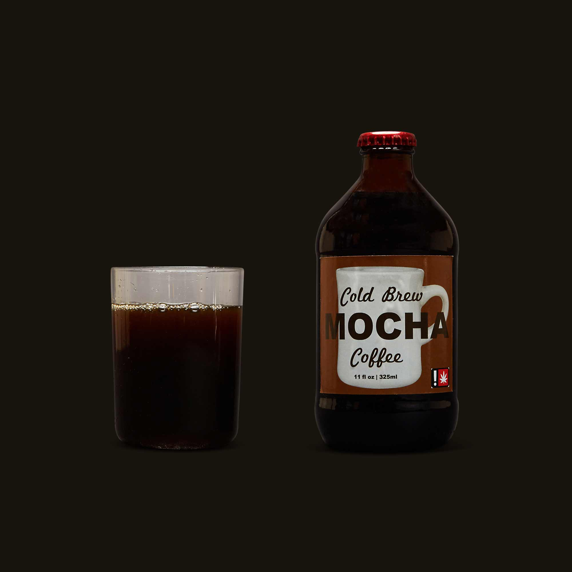 Med with Love Cold Brew Mocha - THC