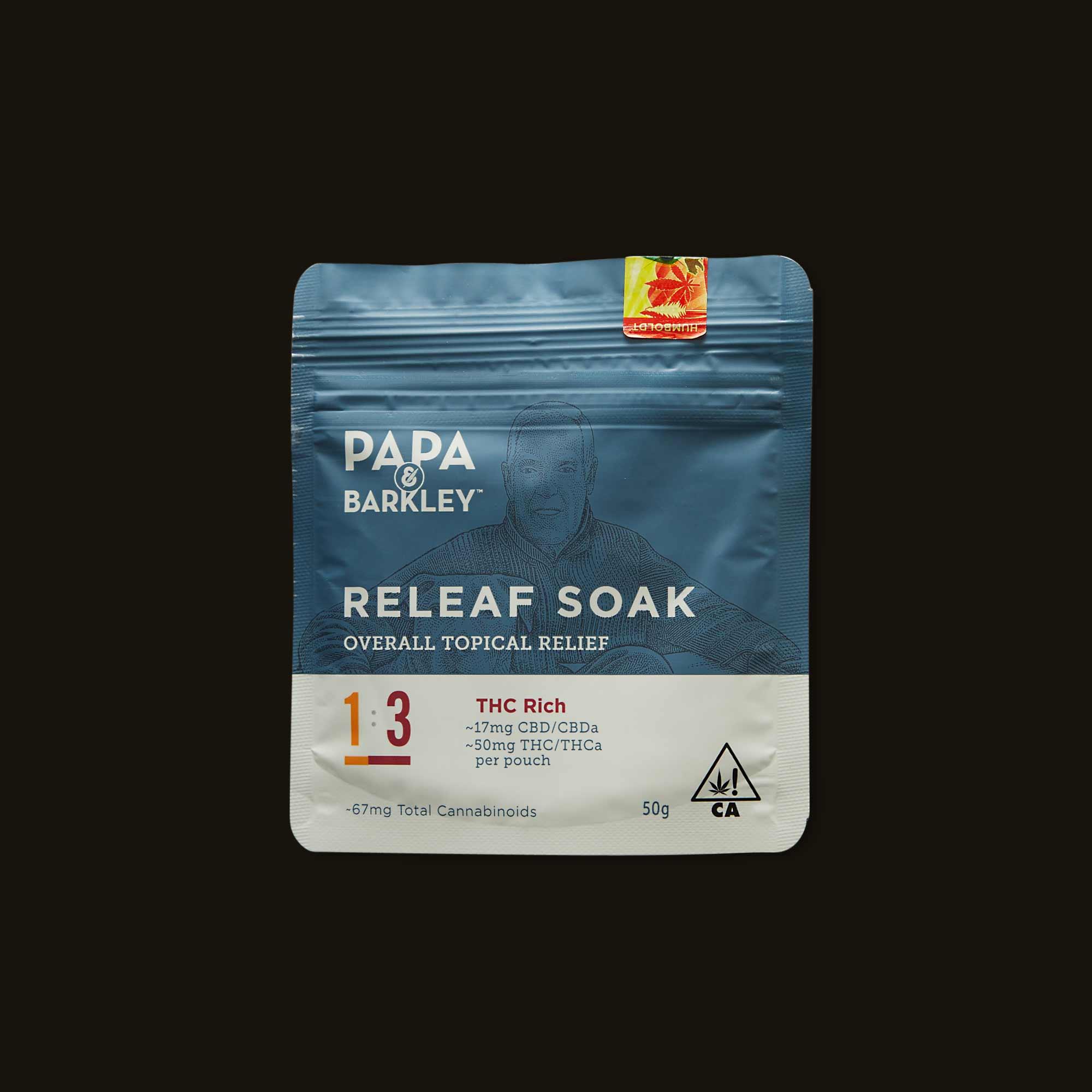 Papa & Barkley 1:3 CBD:THC Releaf Soak
