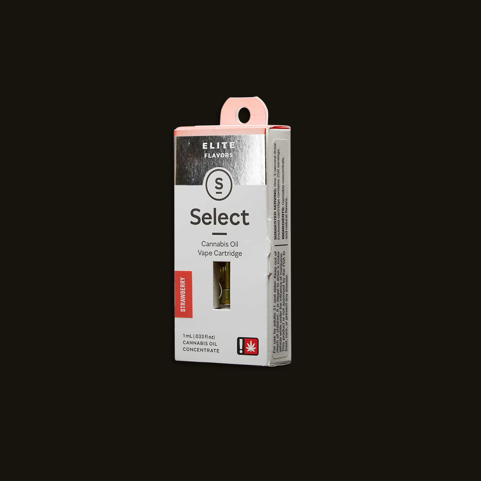 Select Oil Strawberry Elite Cartridge