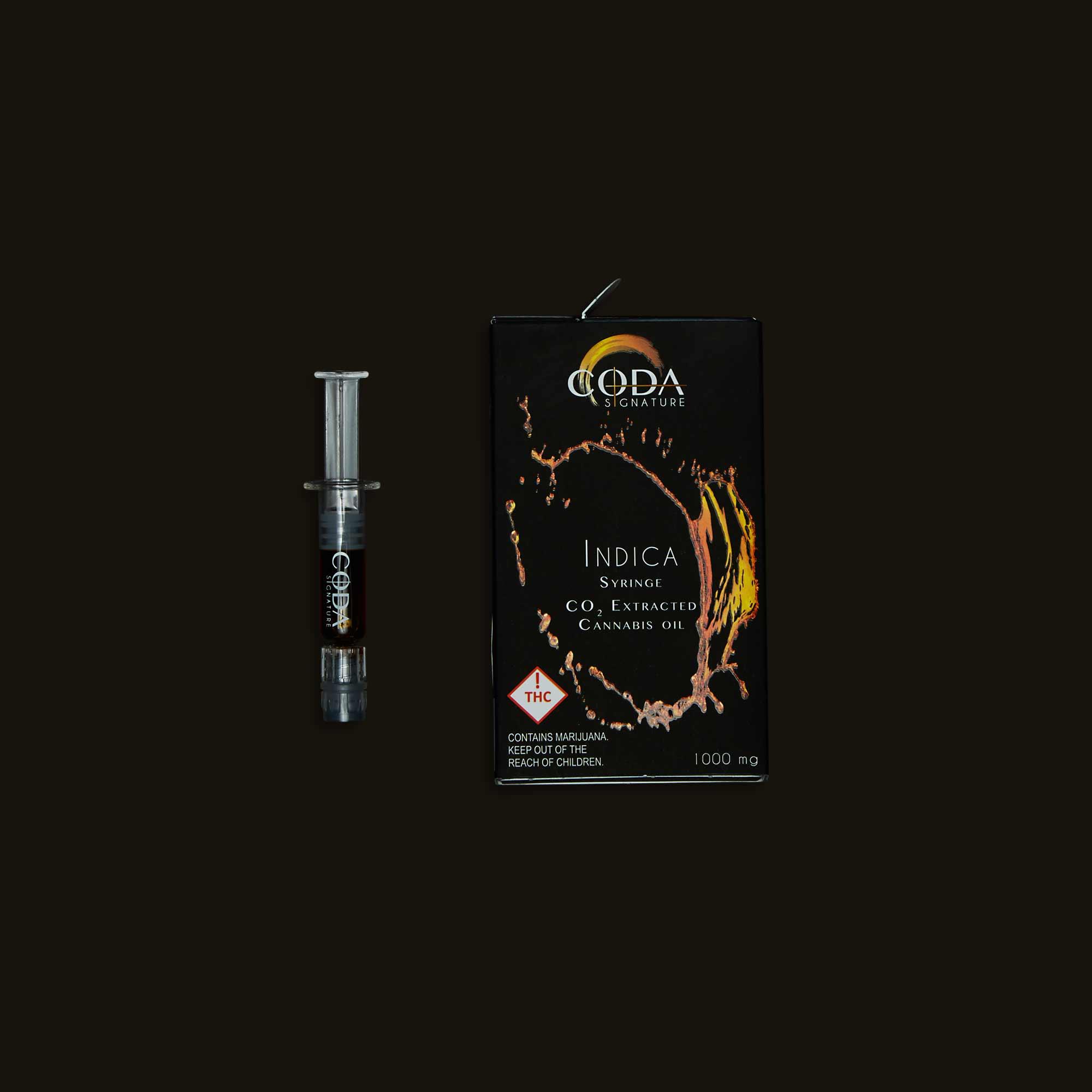 Coda Signature Indica Oil Syringe