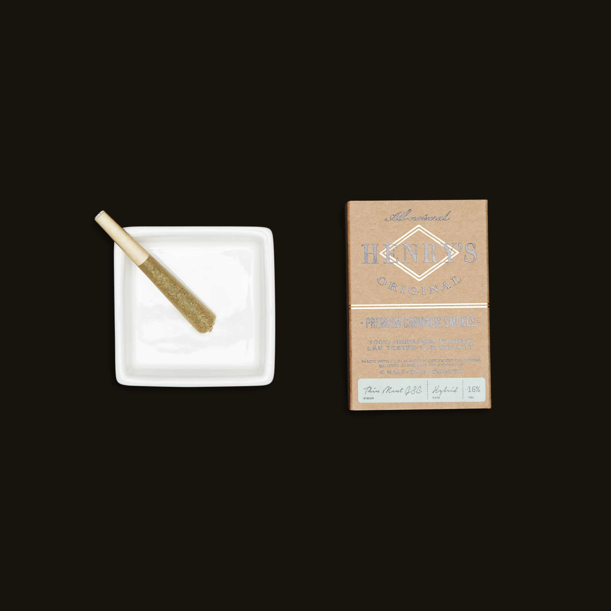 Henry's Original Thin Mint GSC Premium Cannabis Smokes