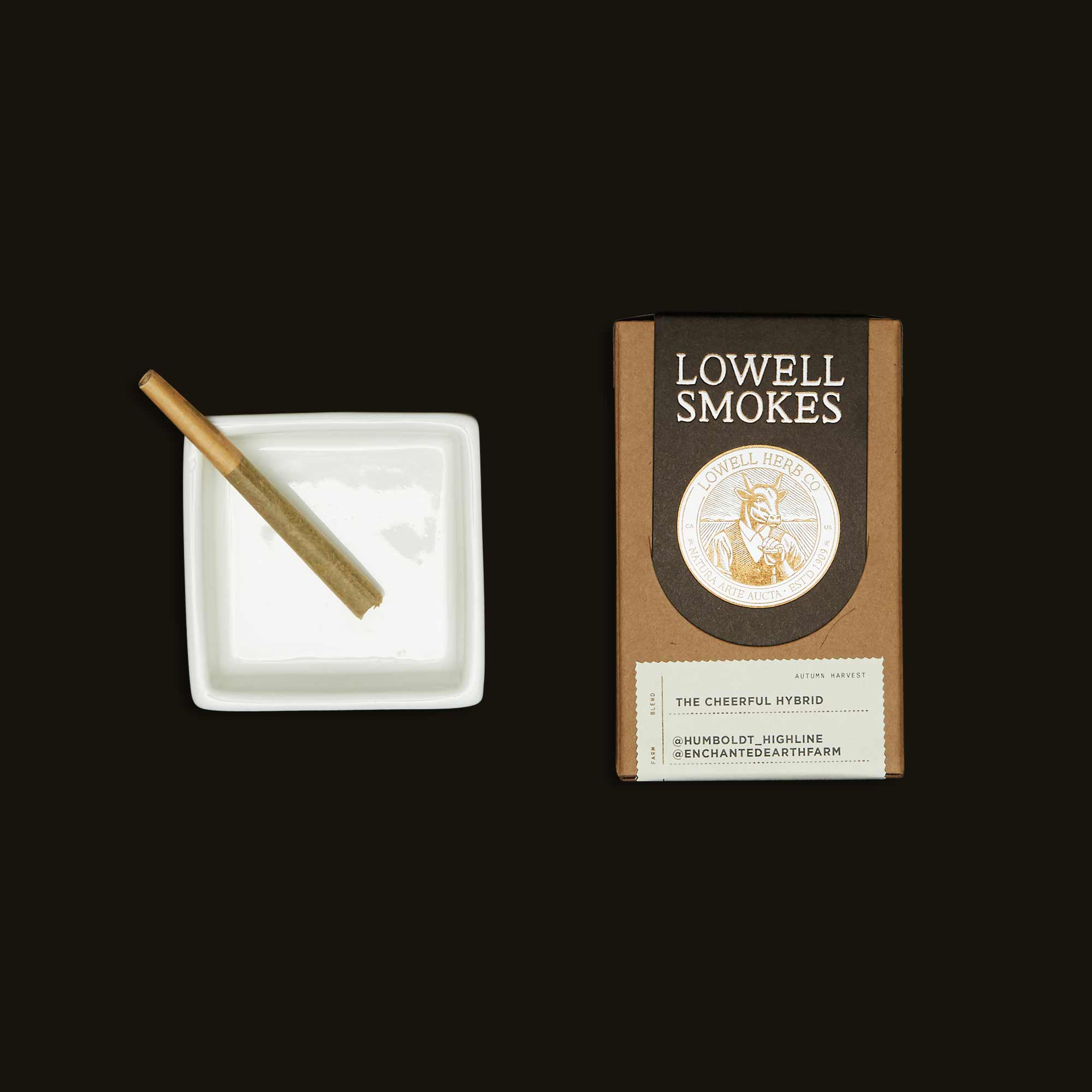 Lowell Herb Co. The Cheerful Hybrid Pack