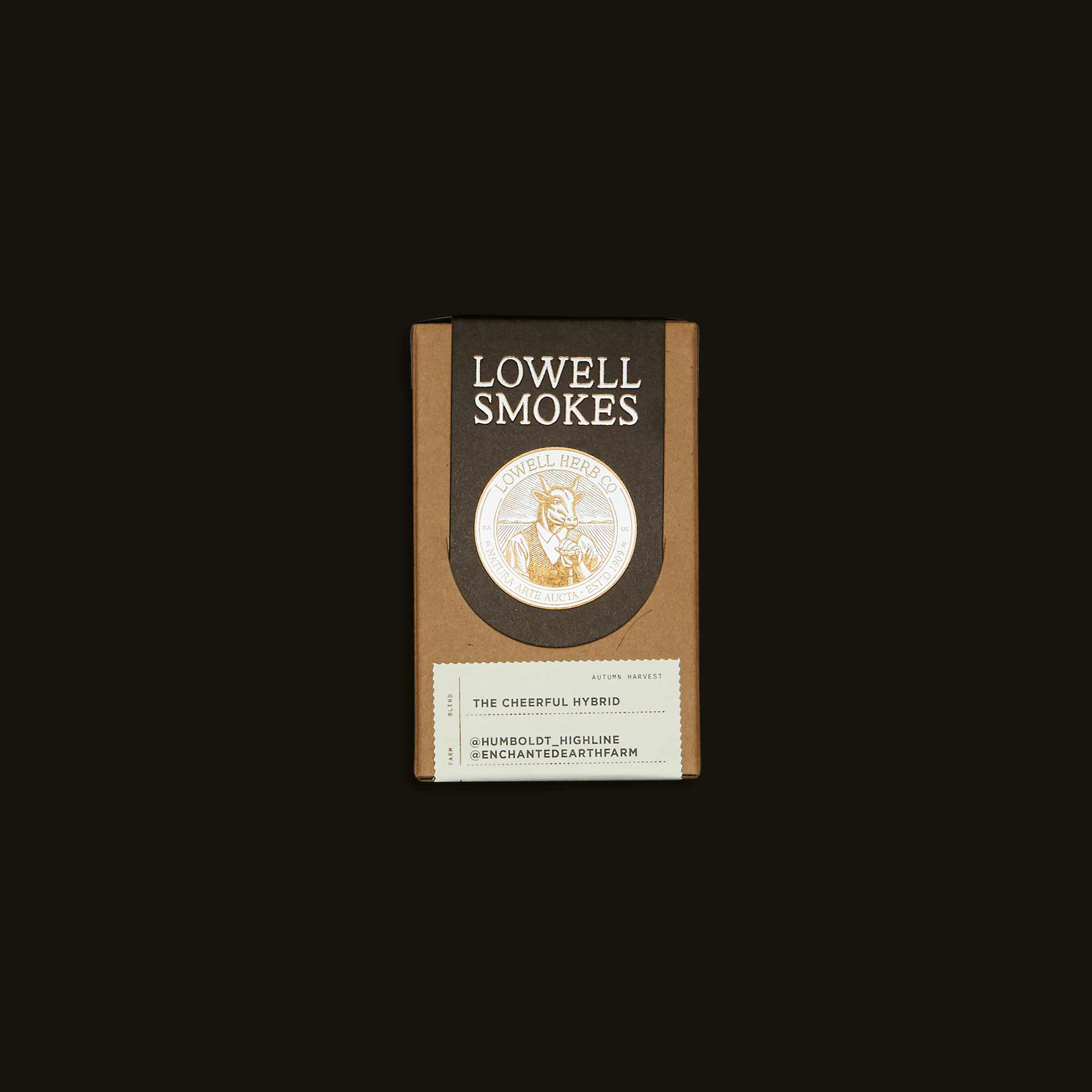 Lowell Herb Co. Pre-Rolls - The Cheerful Hybrid Pack