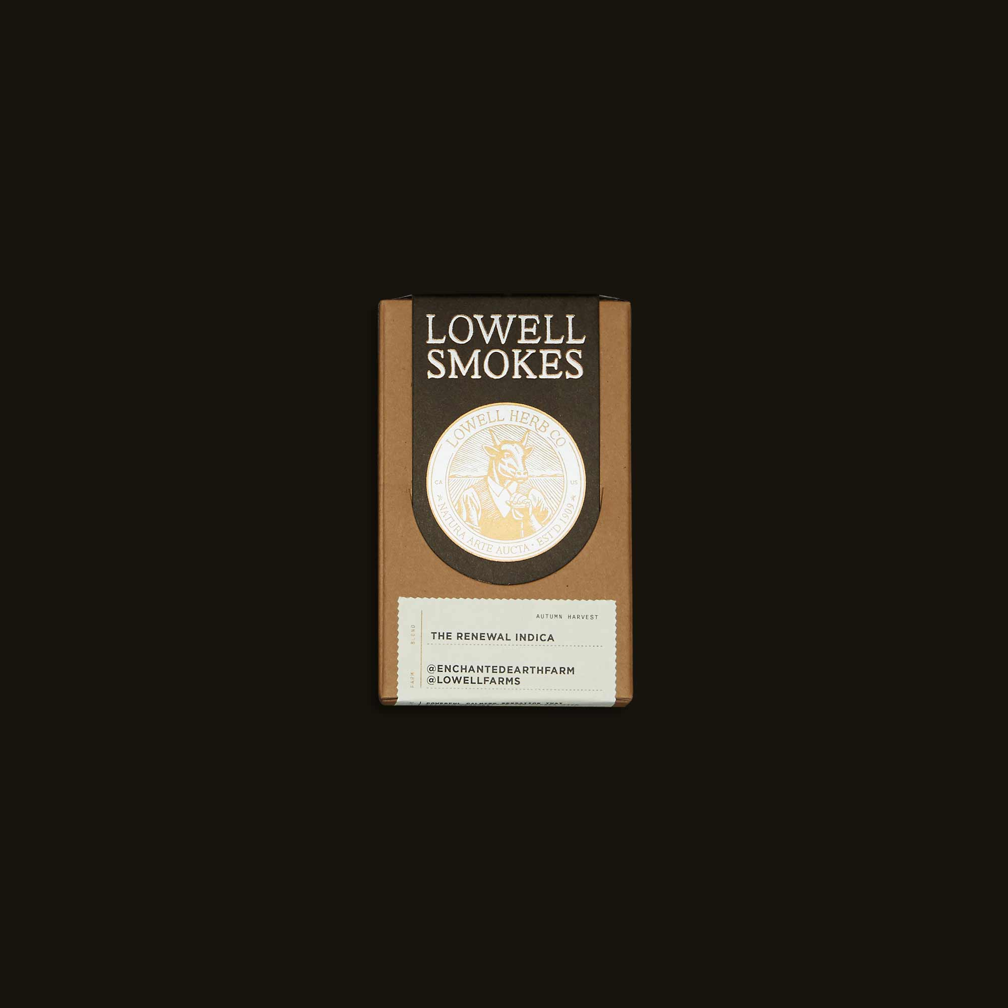 Lowell Herb Co. Pre-Rolls - The Renewal Indica Pack