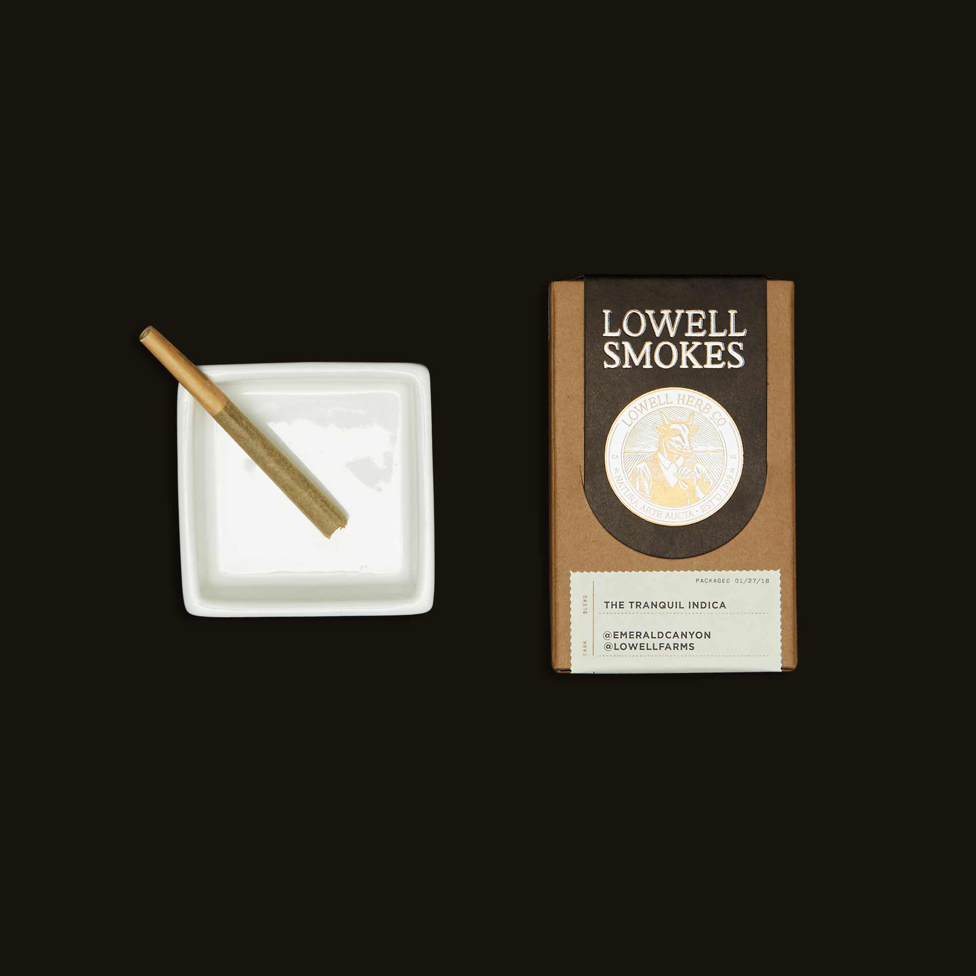 Lowell Herb Co. The Tranquil Indica Pack