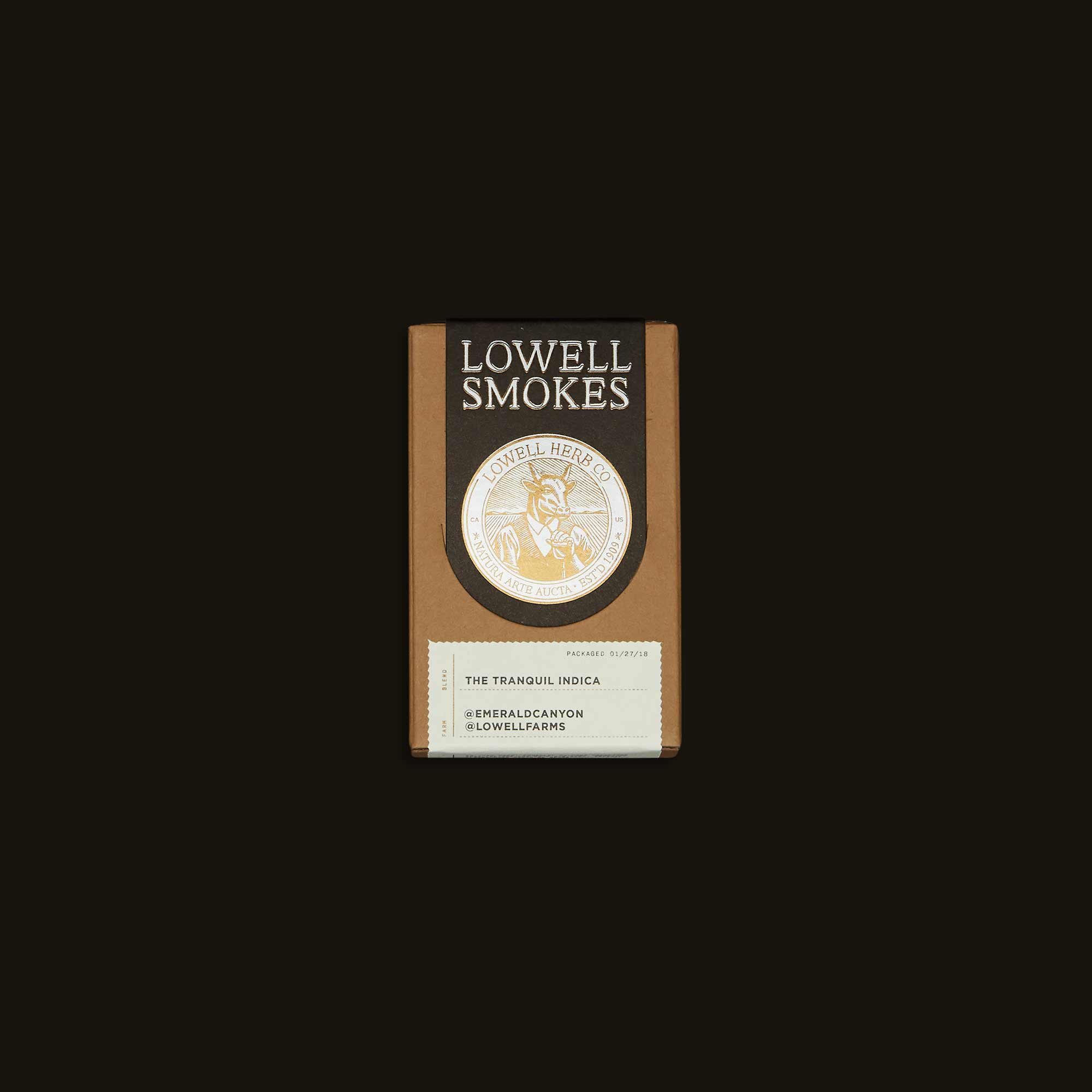 Lowell Herb Co. Pre-Rolls - The Tranquil Indica Pack