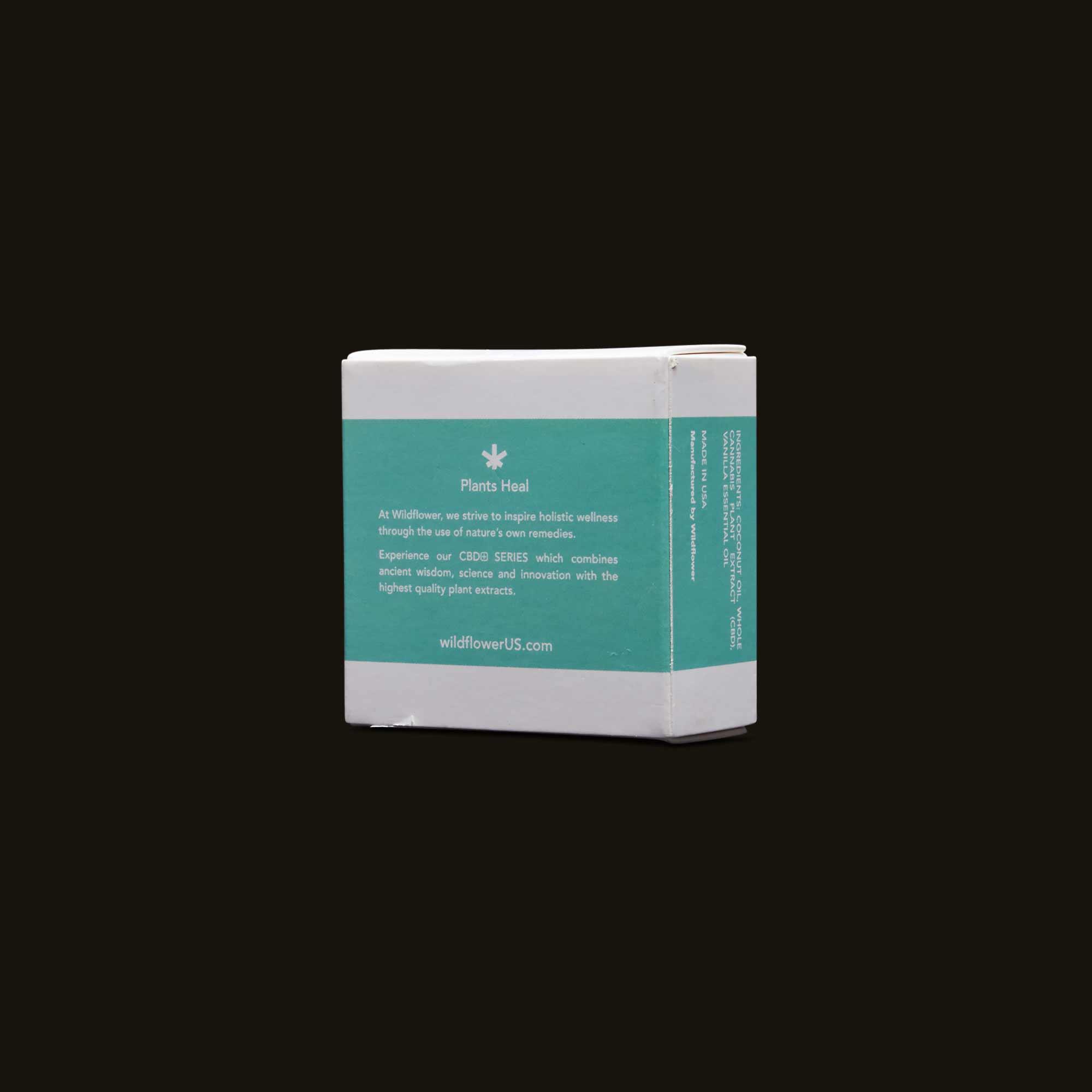 Wildflower CBD+ Soap - Vanilla