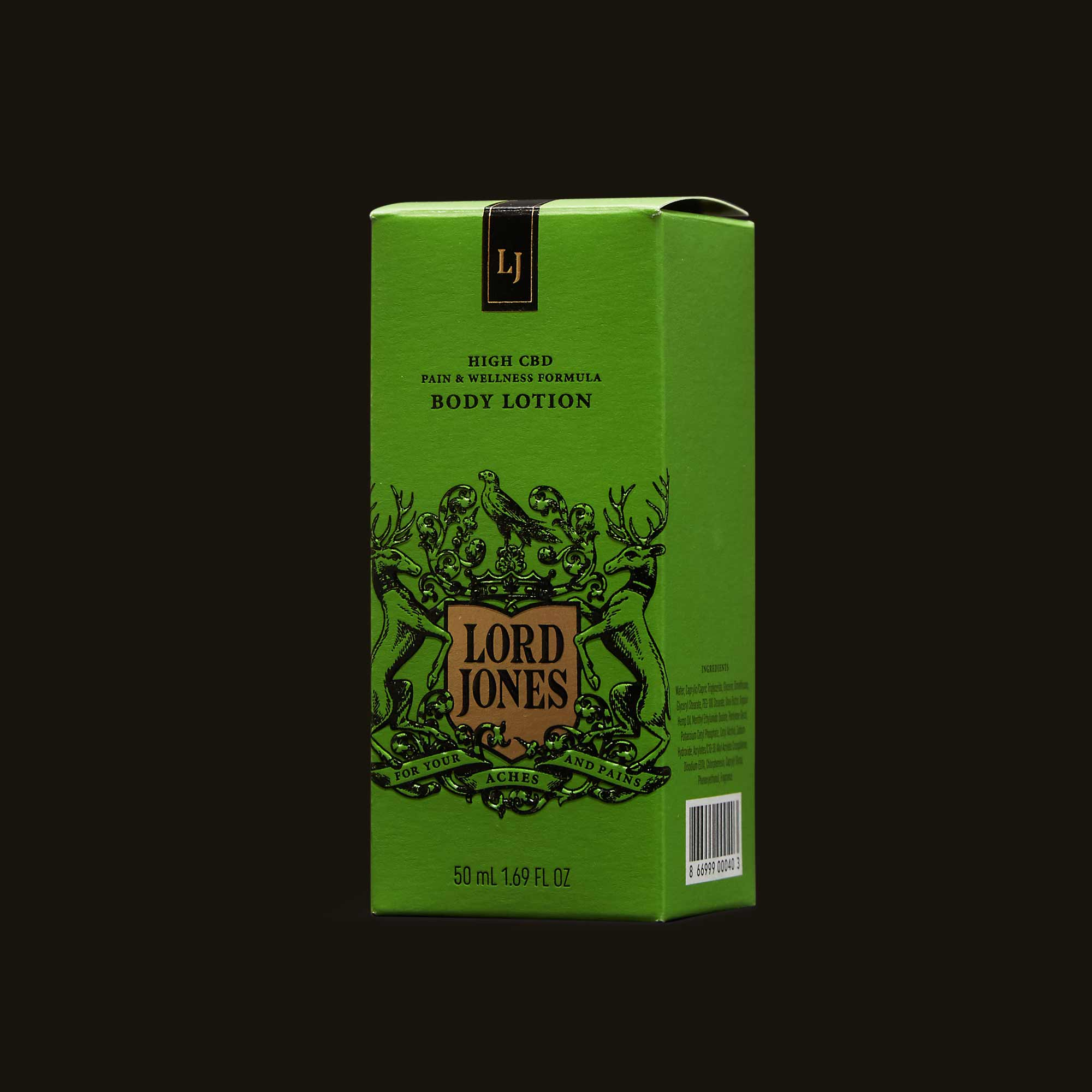 Lord Jones Body Lotion - Fragrance Free