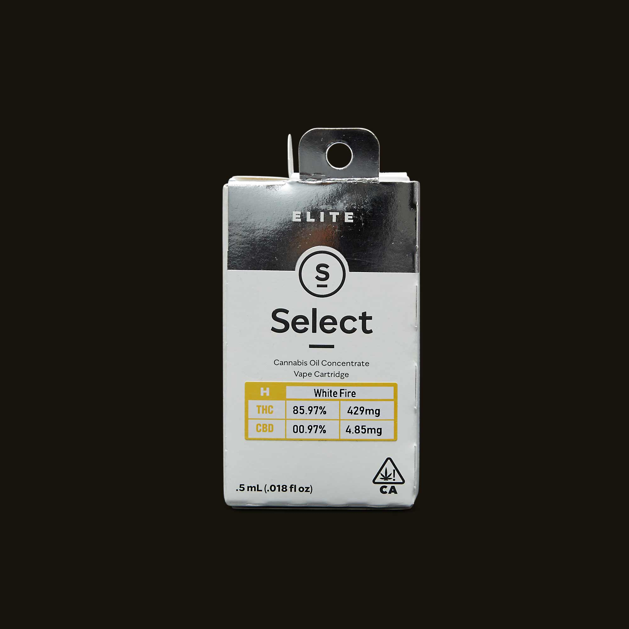 Select White Fire Elite Cartridge
