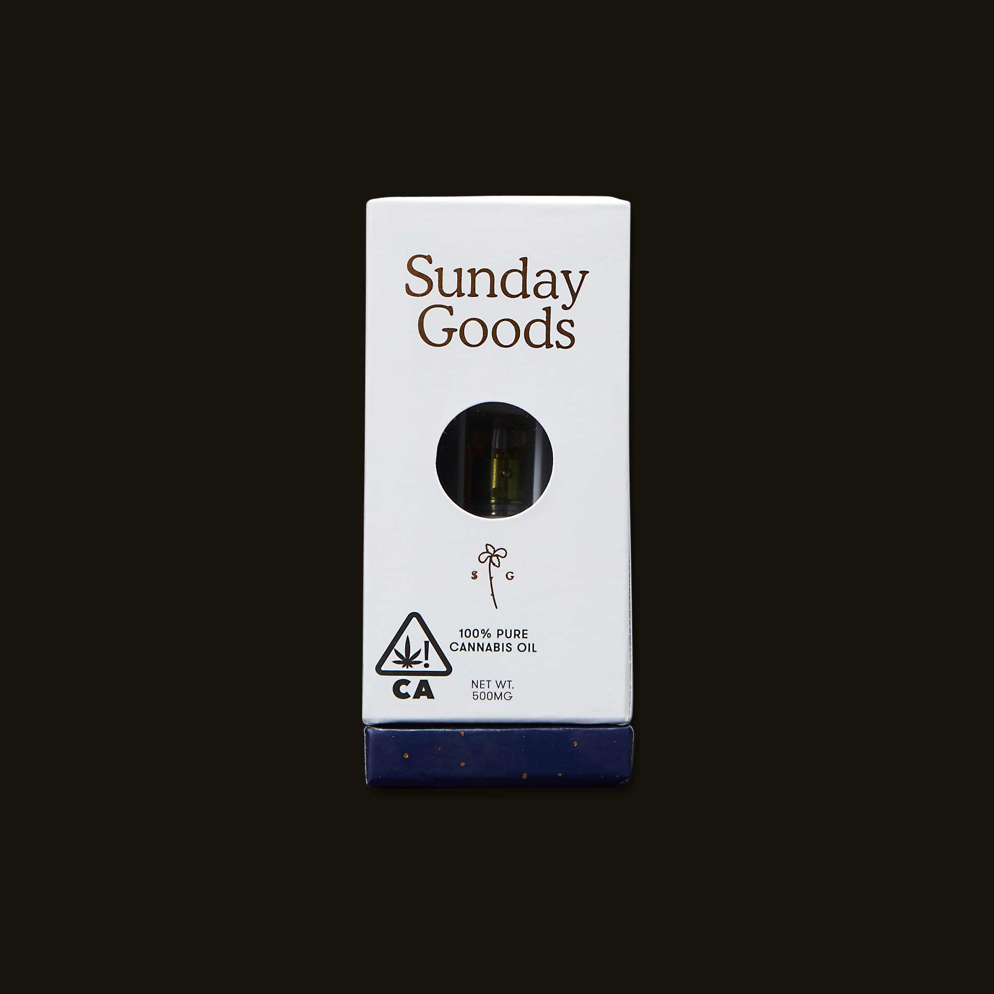 Sunday Goods Hybrid Blend Cartridge
