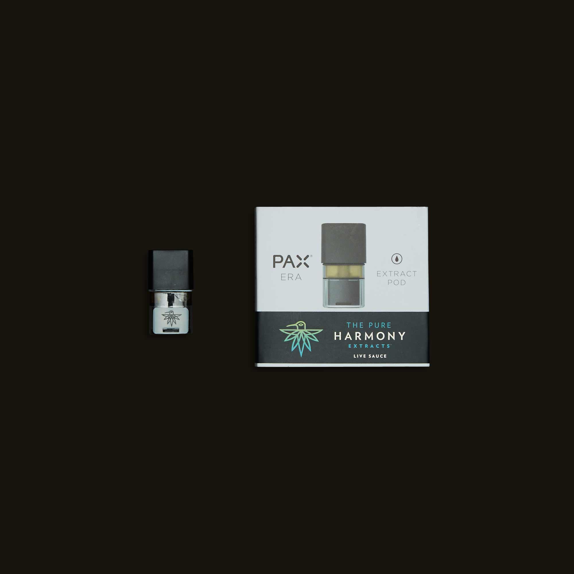Harmony Extracts Sour Kush Live Sauce PAX Pod