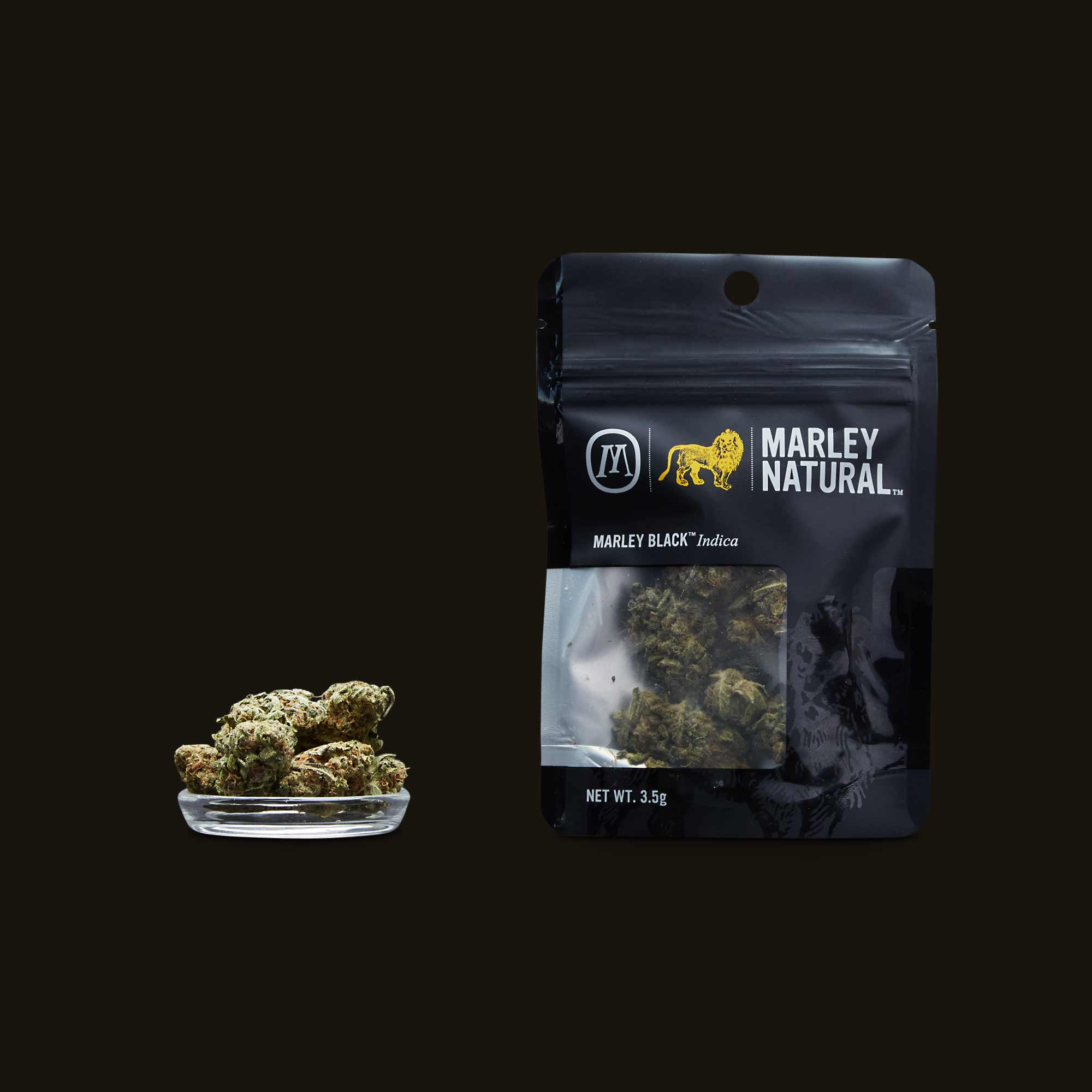 Marley Natural Marley Black Flower