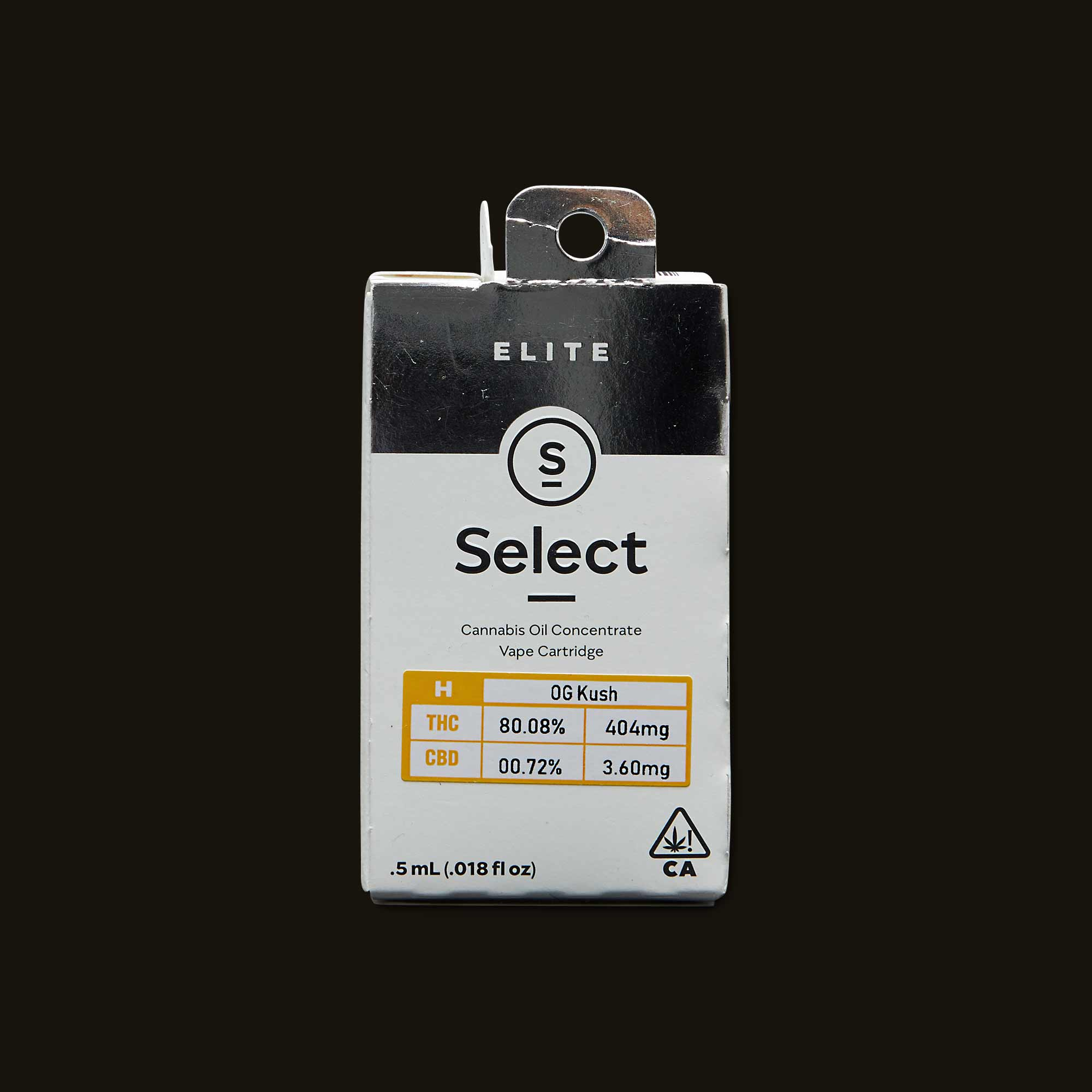 Select OG Kush Elite Cartridge