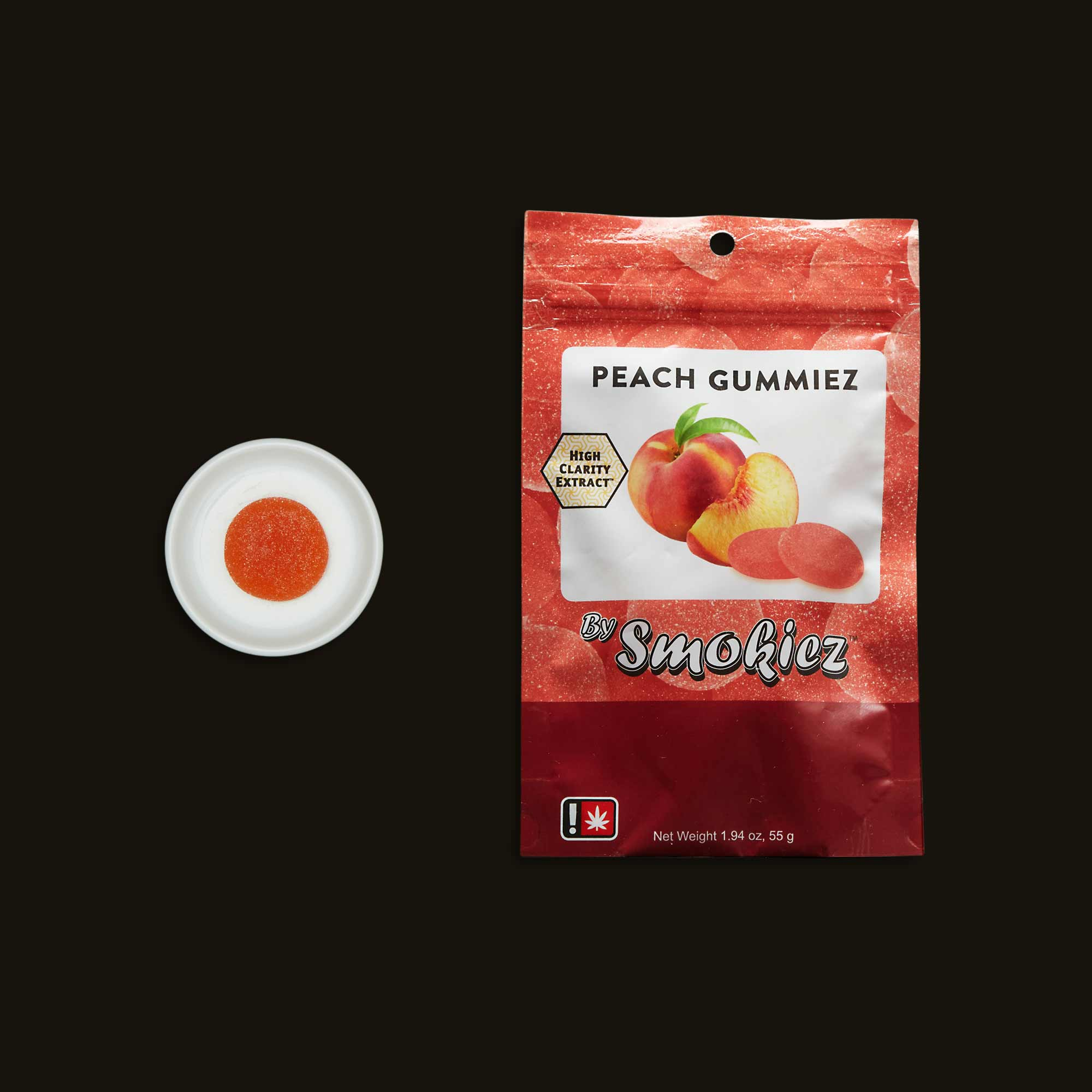 Smokiez Peach Gummiez