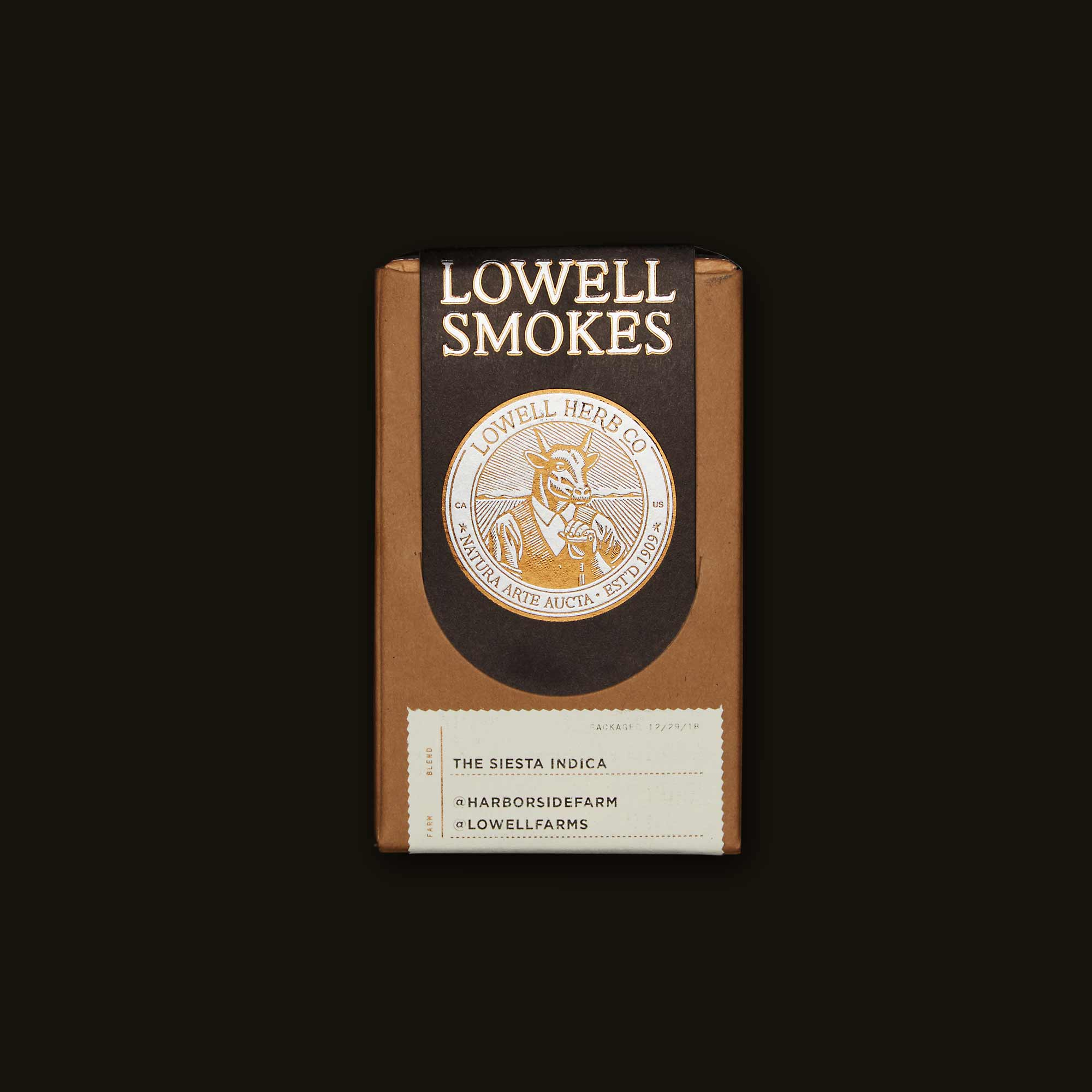 Lowell Herb Co. The Siesta Indica Pack
