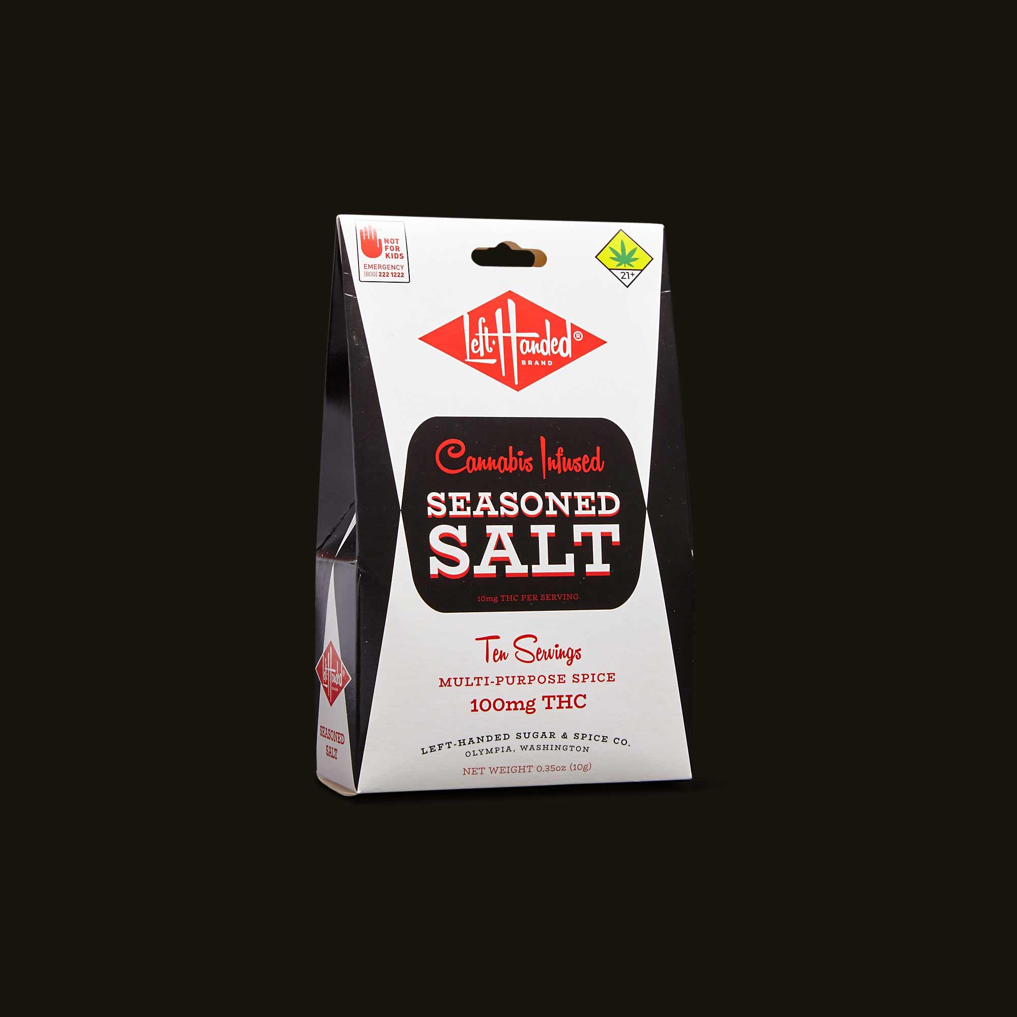 Left-Handed Brand Seasoned Salt