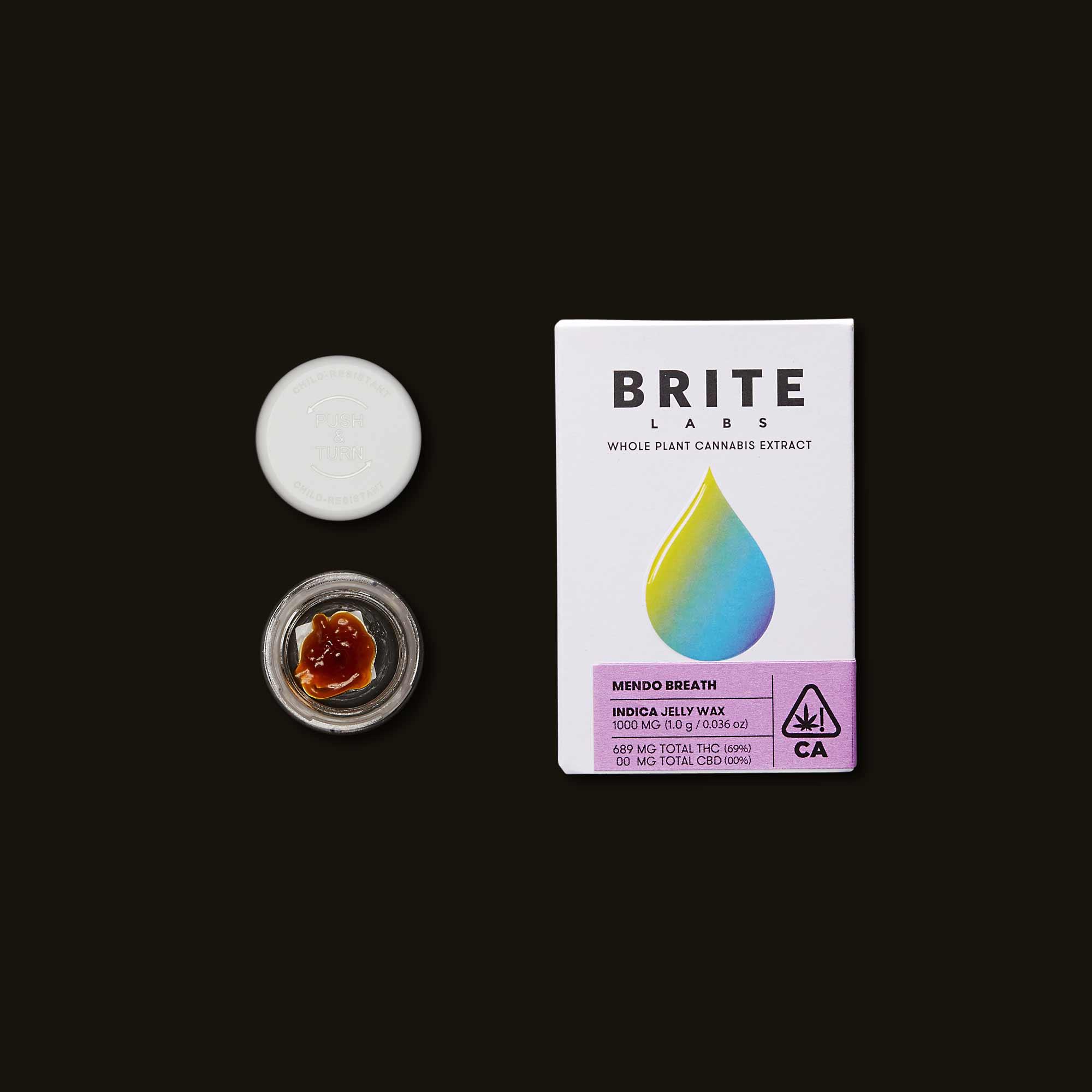 Brite Labs Mendo Breath Jelly Wax