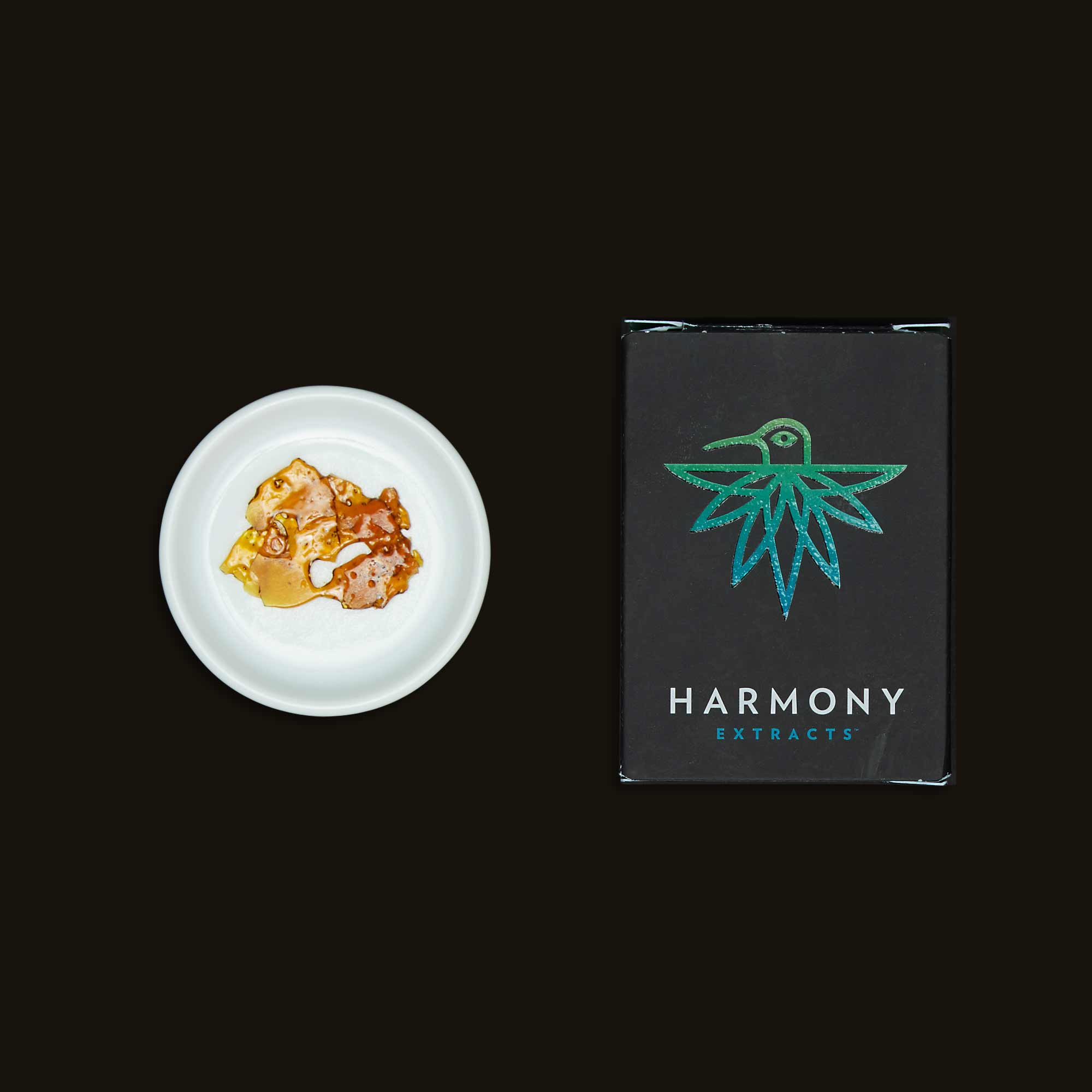 Harmony Extracts Sour Purple Kush Shatter