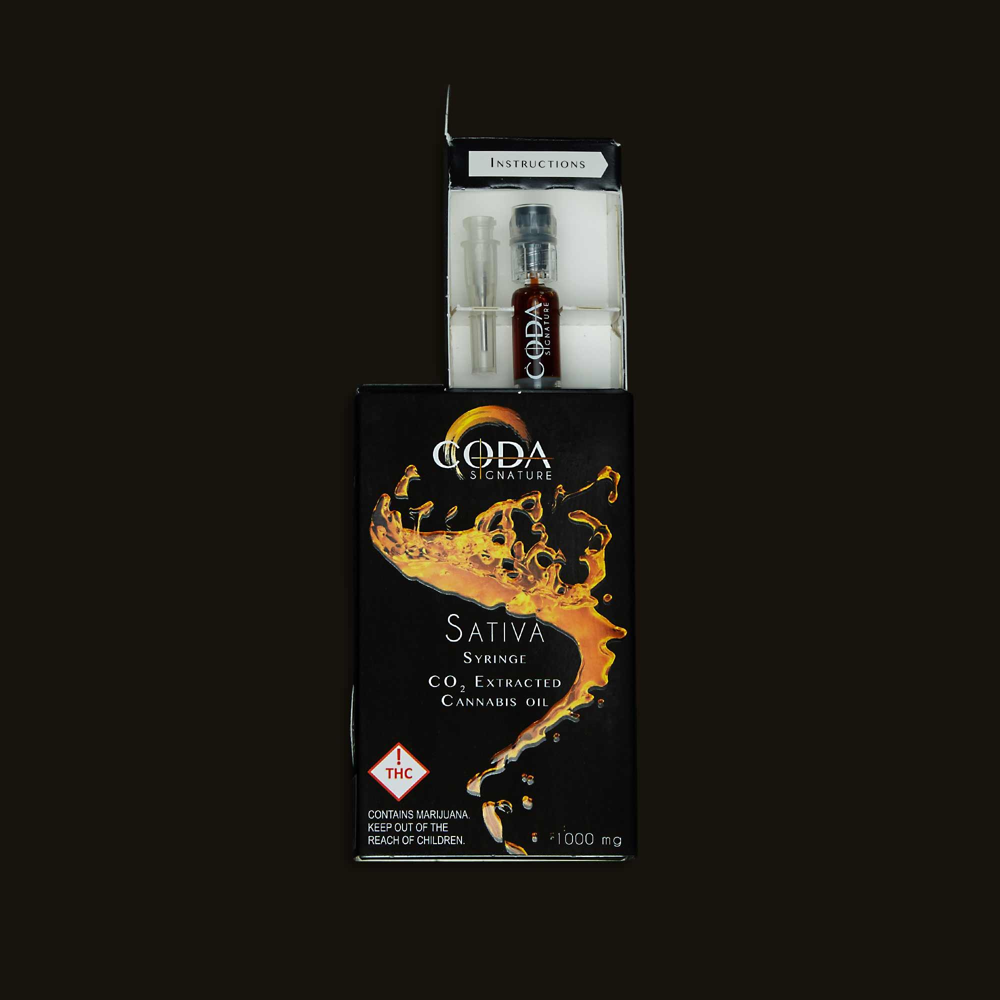 Coda Signature Sativa Oil Syringe