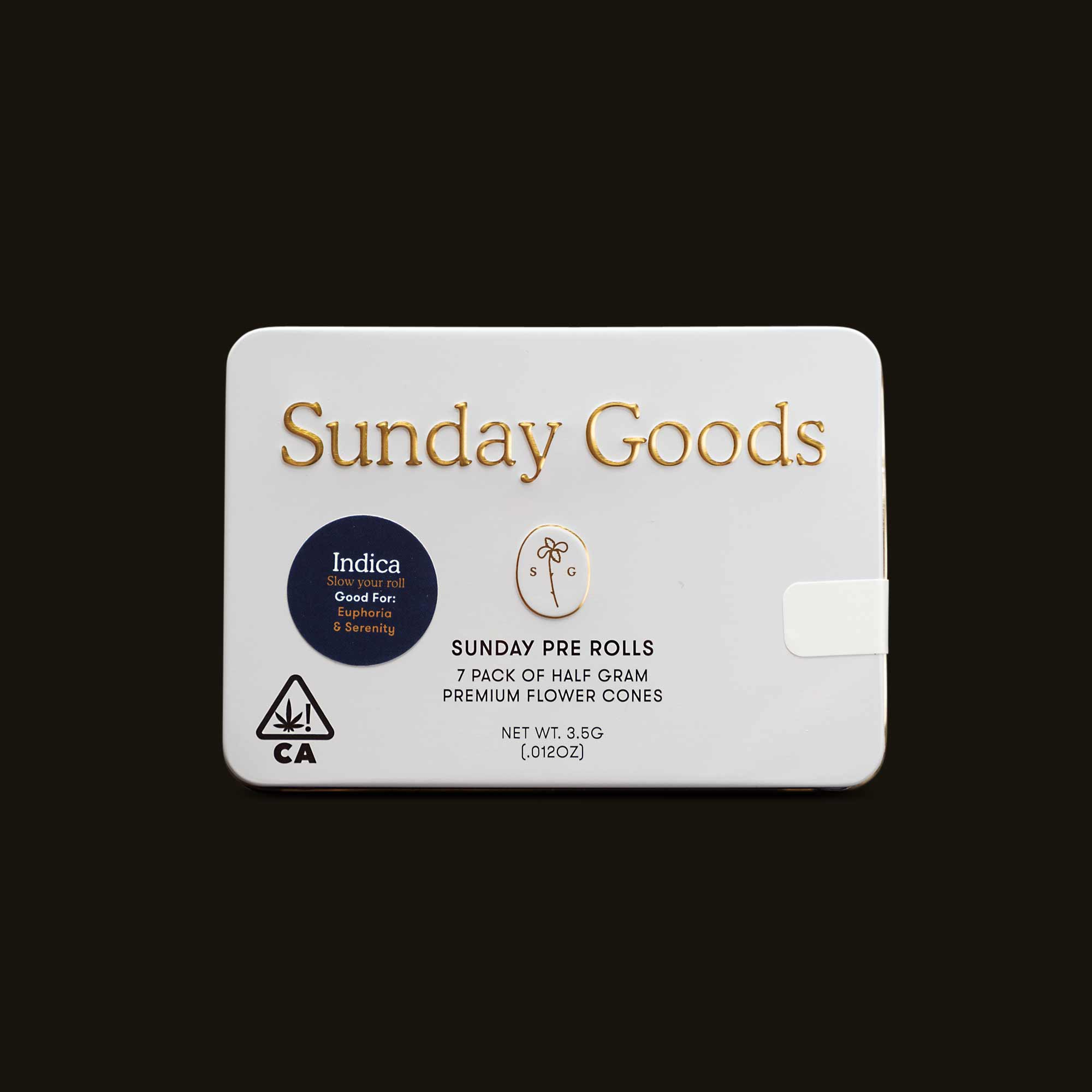 Sunday Goods Indica Blend Pack