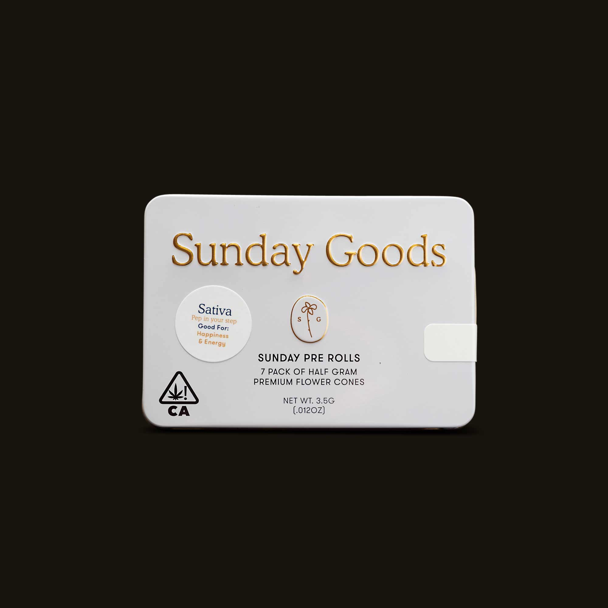 Sunday Goods Sativa Blend Pack