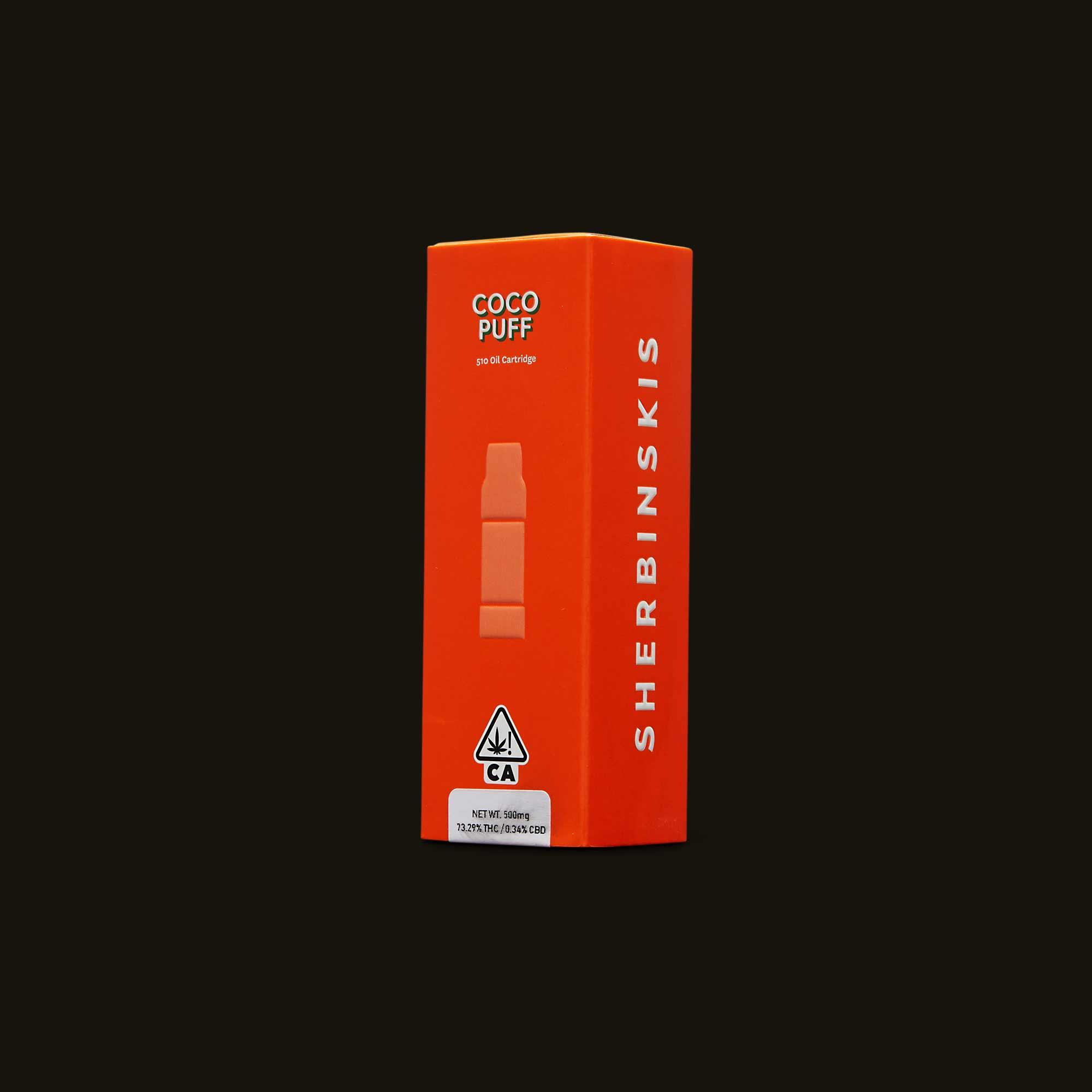 Coco Puff Cartridge - 500mg cartridge, 1g cartridge