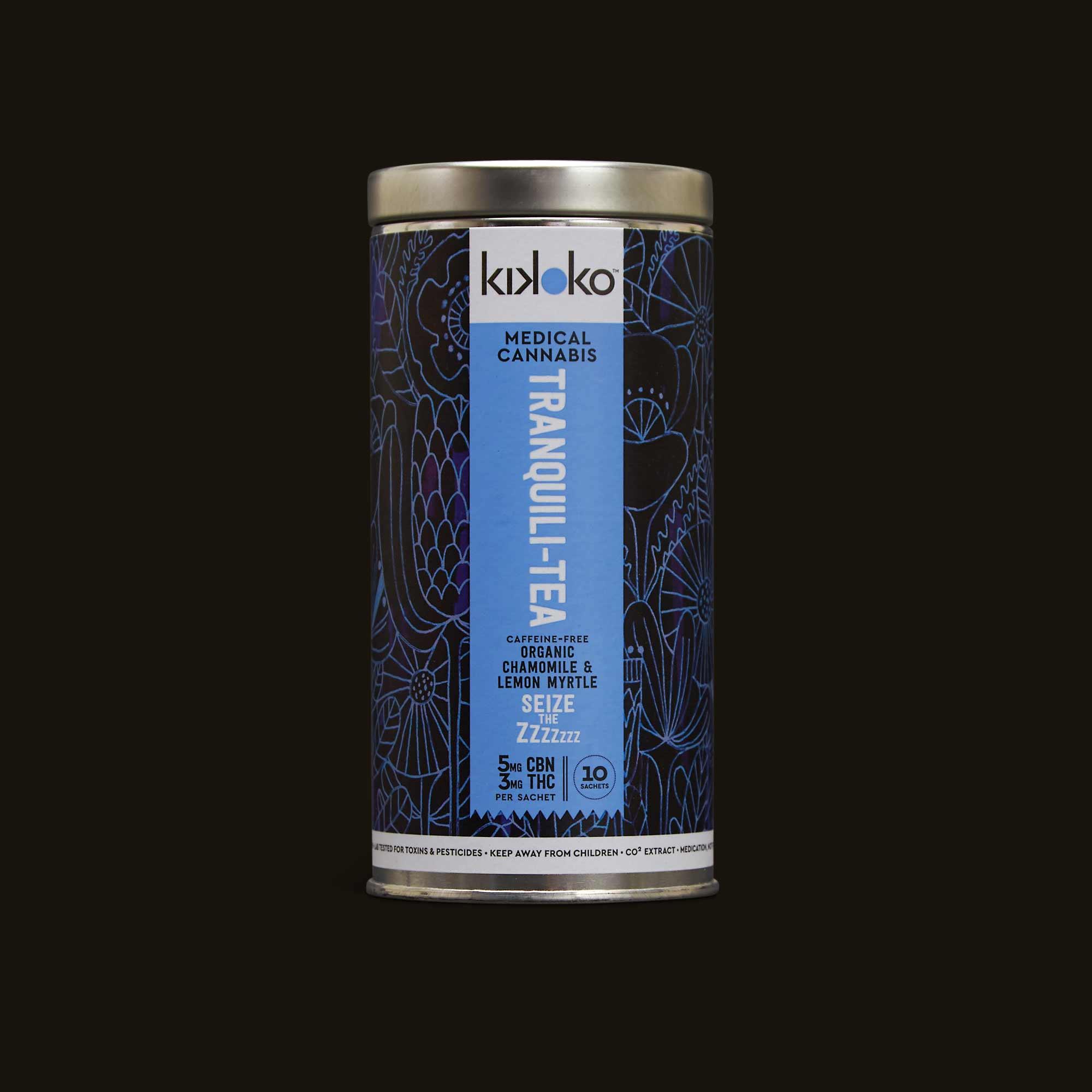 Tranquili-Tea - 10 Tea Sachets (30mg THC, 50mg CBN)