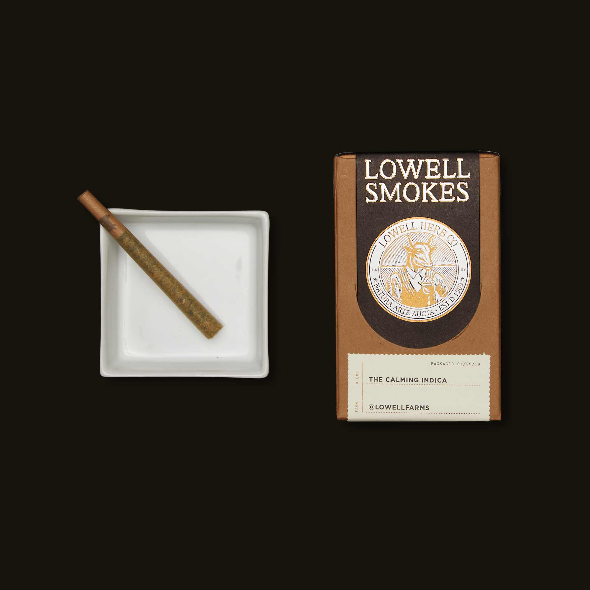Lowell Herb Co. The Calming Indica Smokes