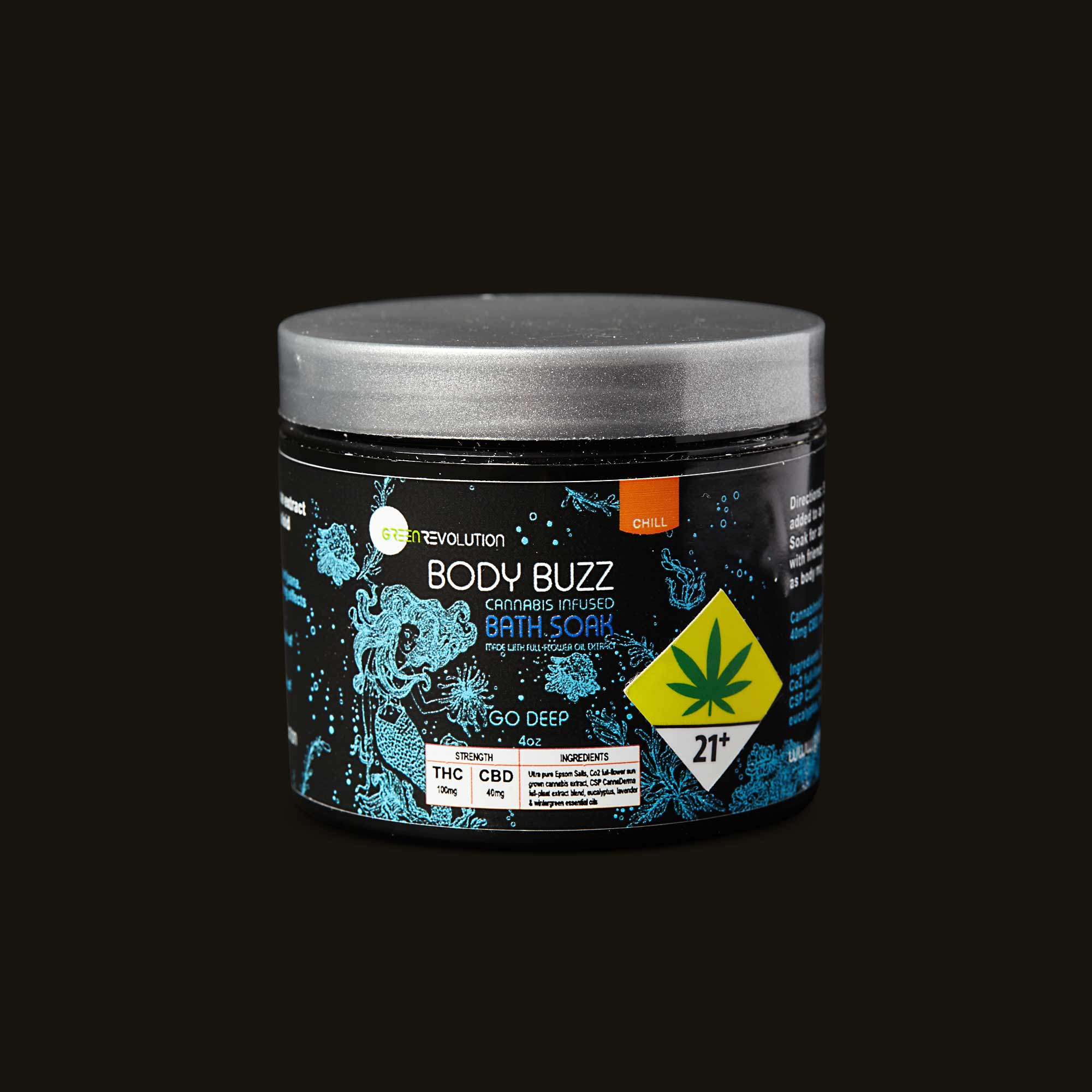 Green Revolution Body Buzz Bath Soak