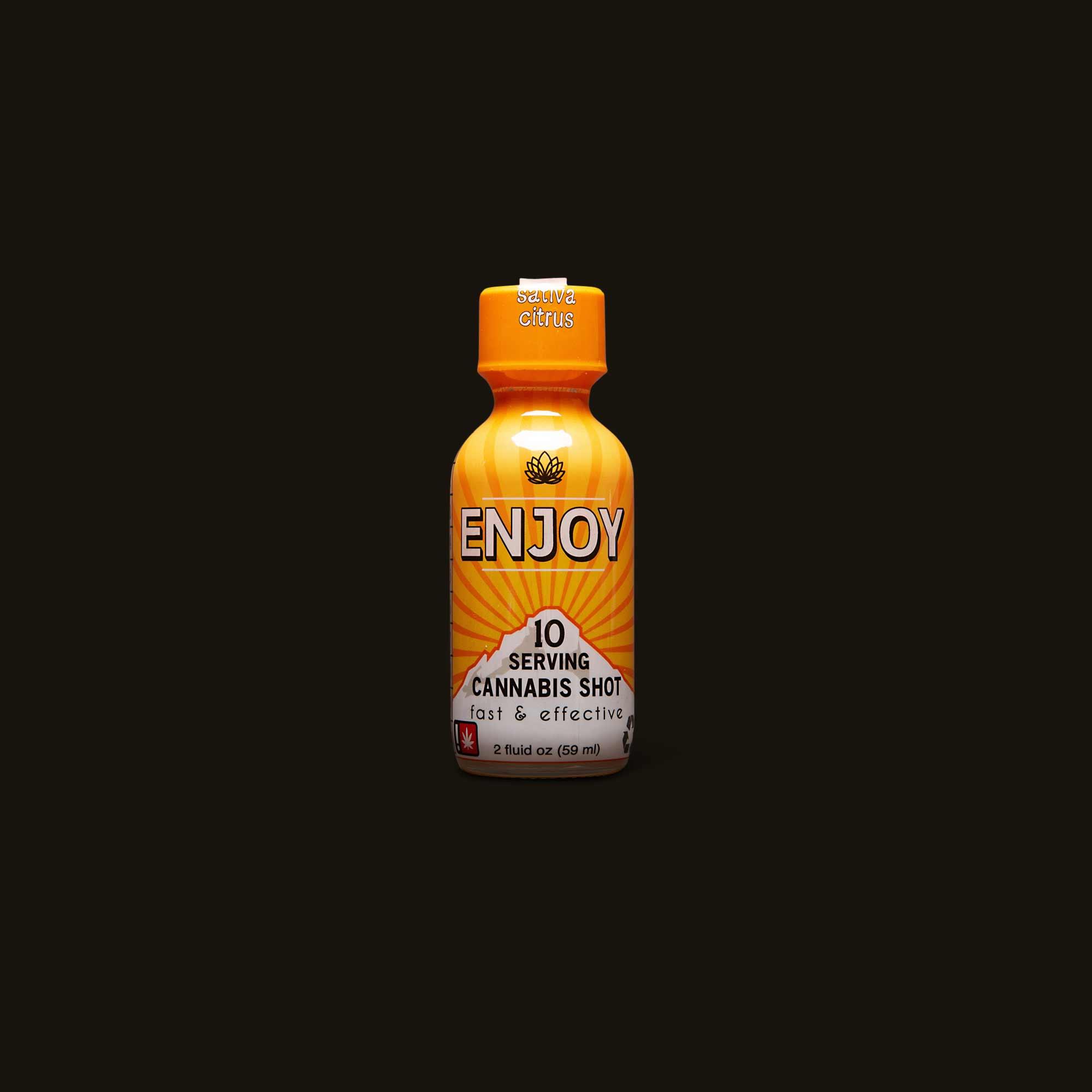 Enjoy Sativa Citrus Shot