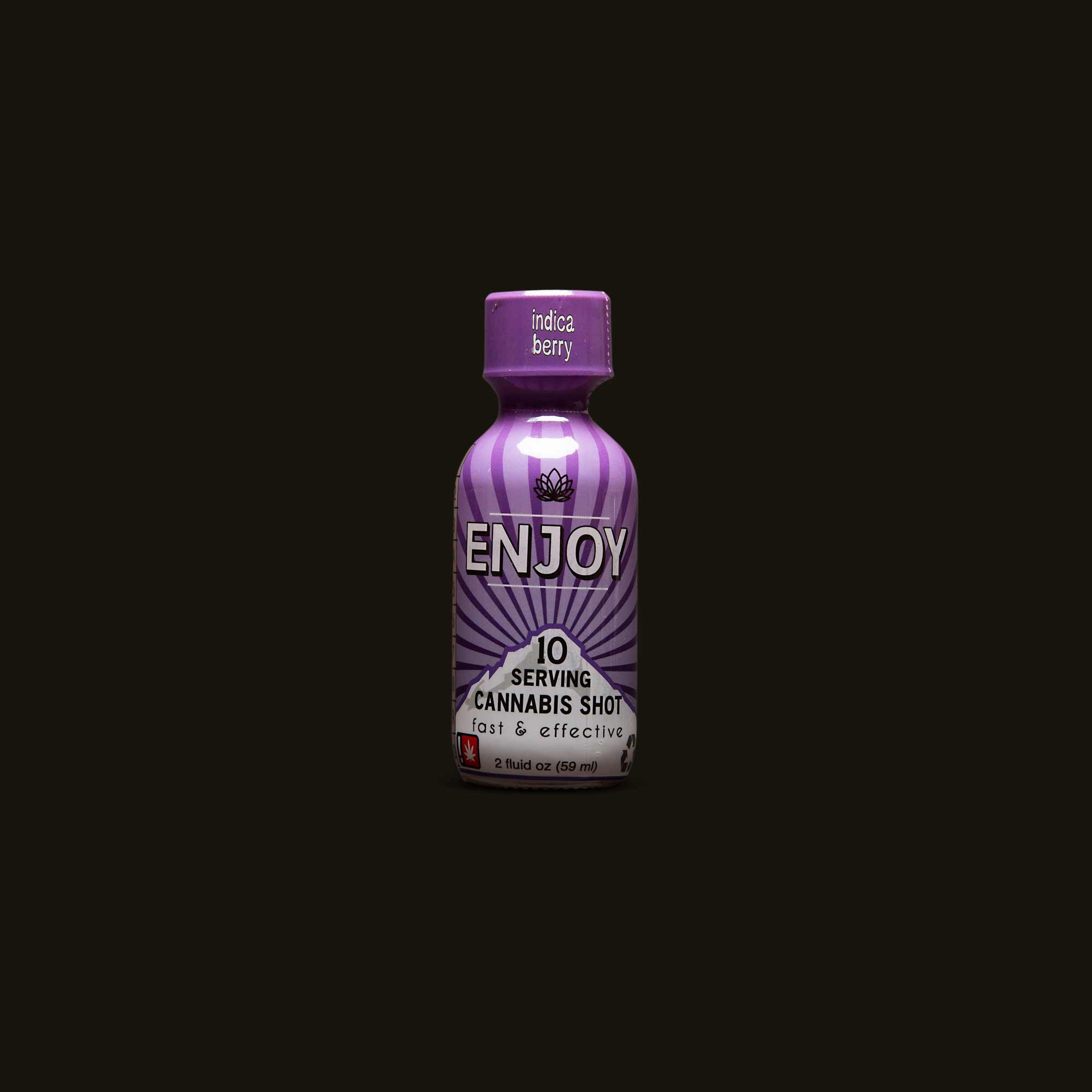 Enjoy Indica Berry Shot