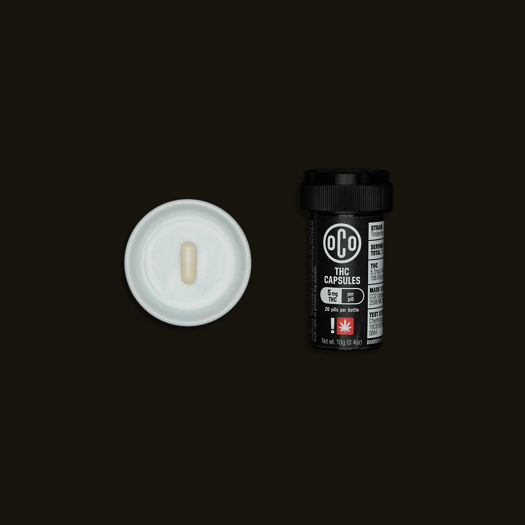 OCO THC Capsules
