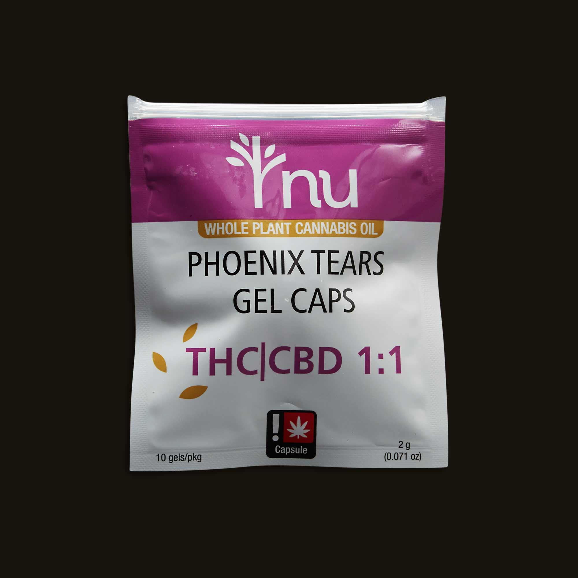 Nu Phoenix Tears Gel Caps 1:1