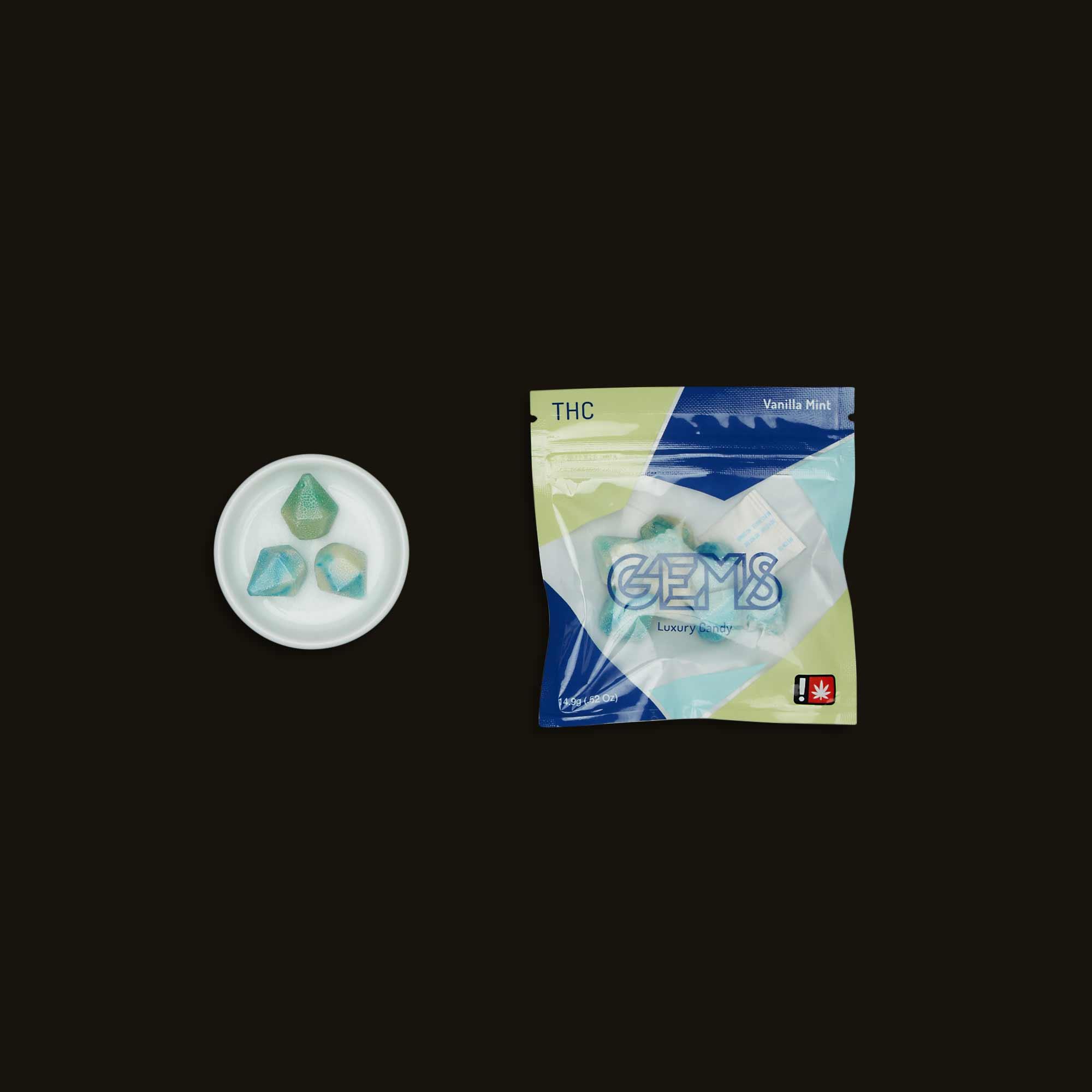 Drip Sweets White Mint Illuminite Gems