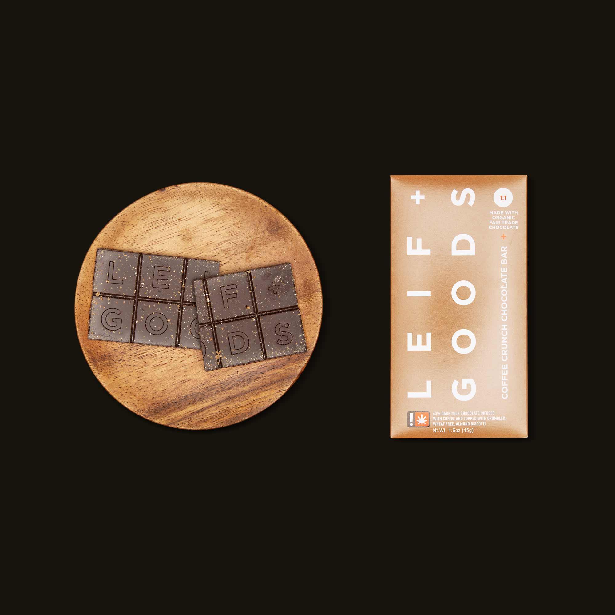 Leif Goods Coffee Crunch Chocolate Bar
