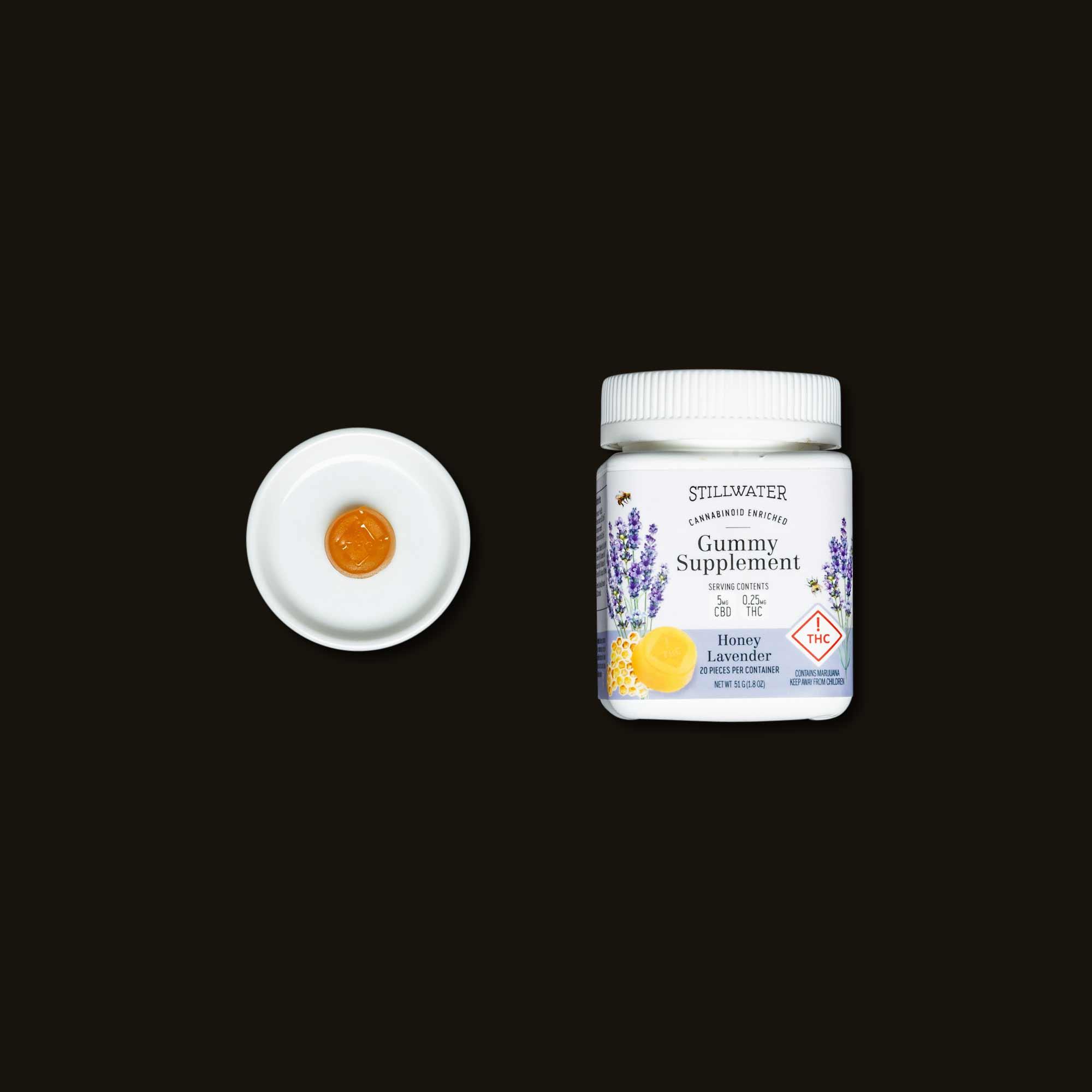 Stillwater Honey Lavender Gummy Supplements