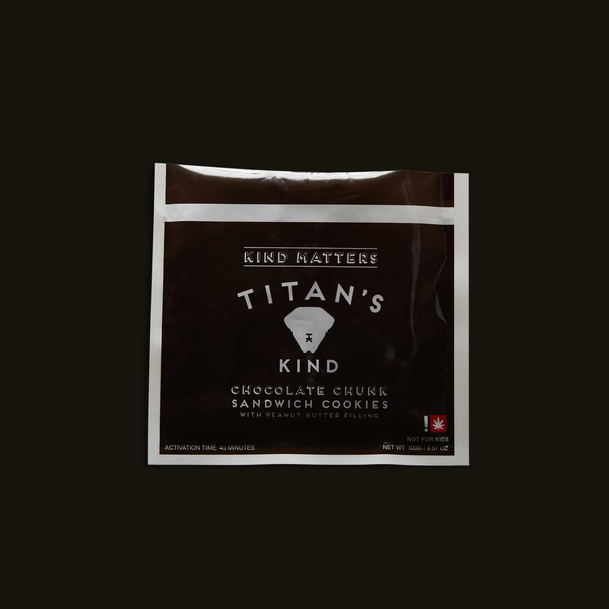 Titan's Kind Chocolate Chunk Sandwich Cookies