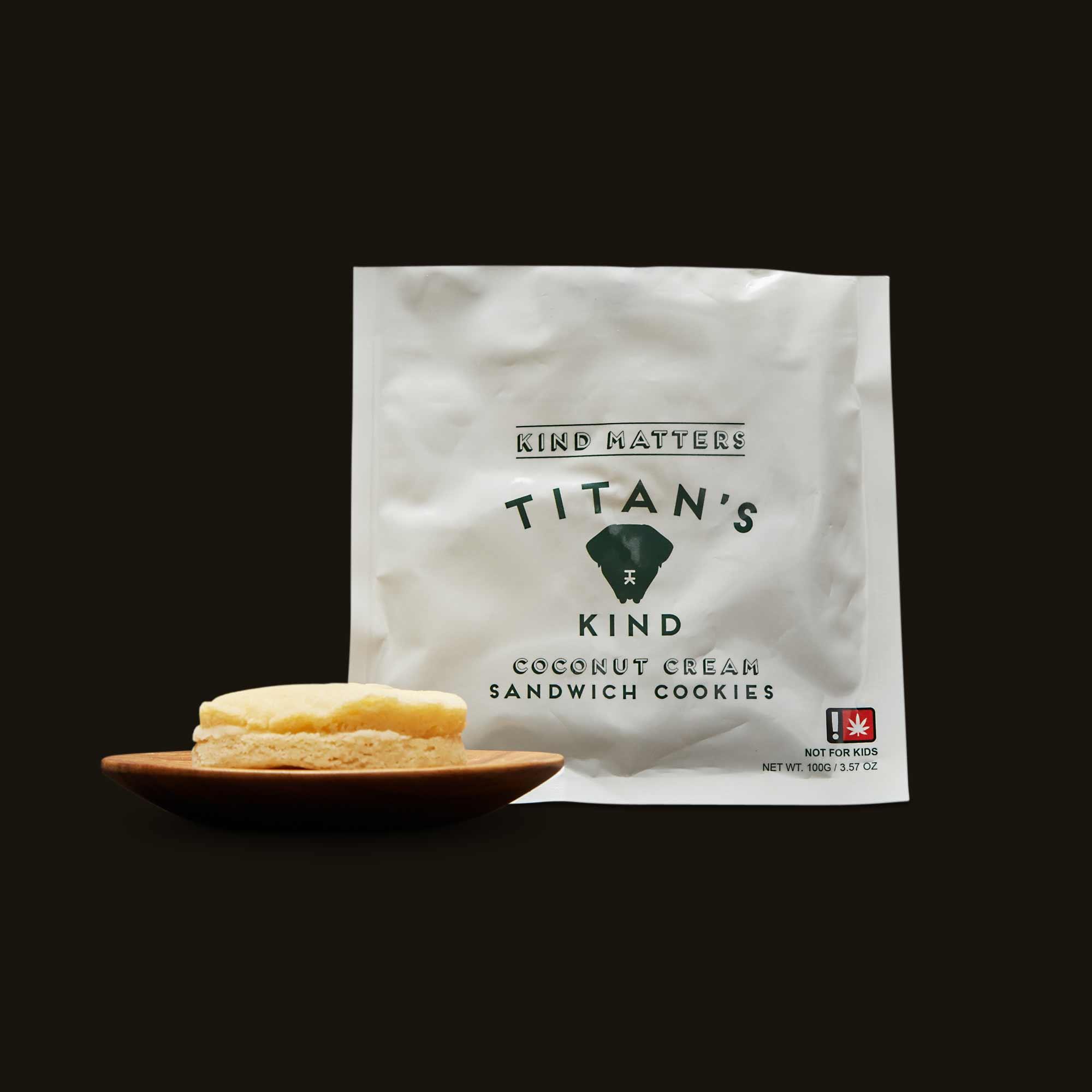 Titan's Kind Coconut Cream Sandwich Cookies
