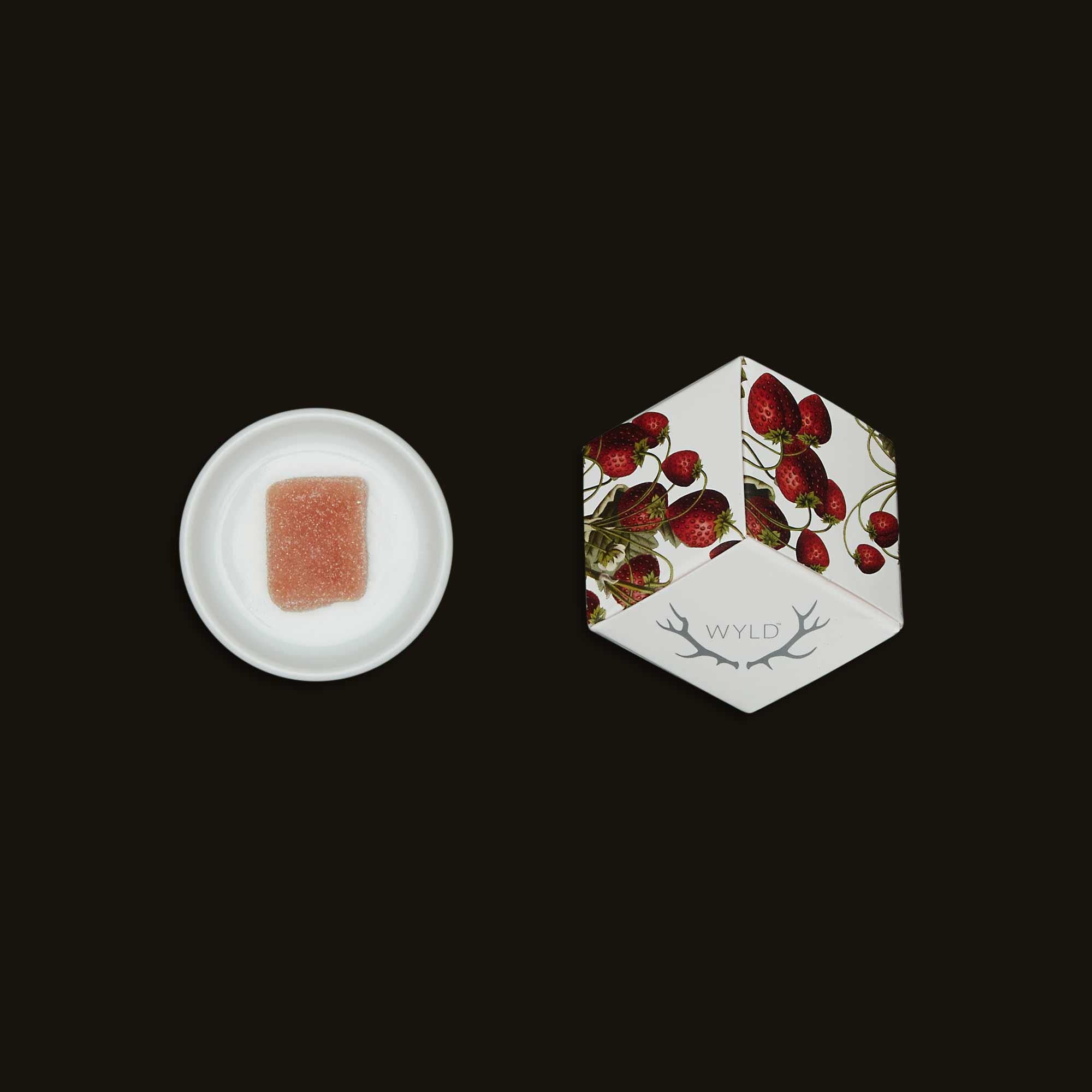 Wyld Strawberry Gummies